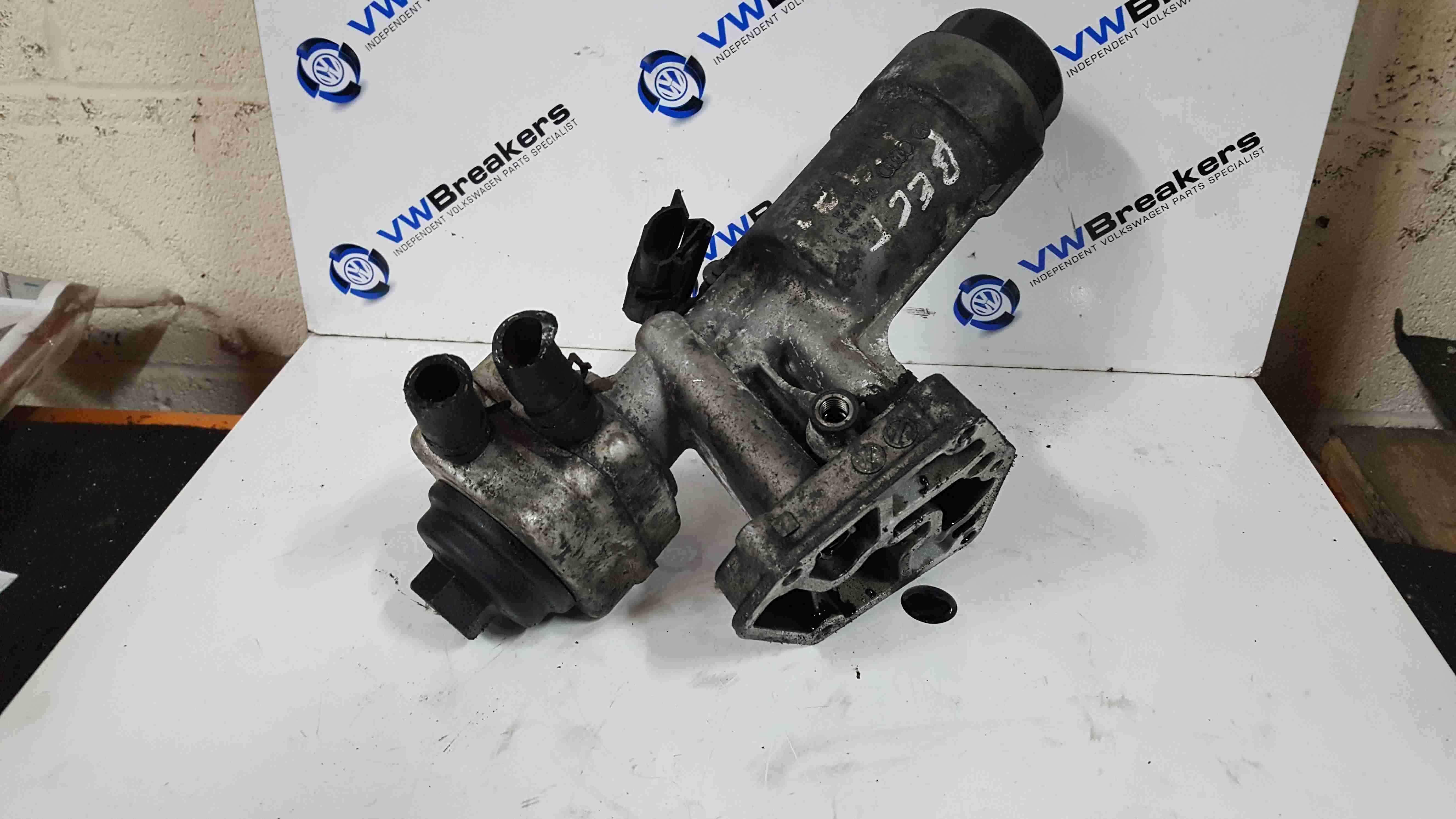 Volkswagen Beetle 1998-2006 1.9 TDi Oil Cooler With Filter Housing 038115389C