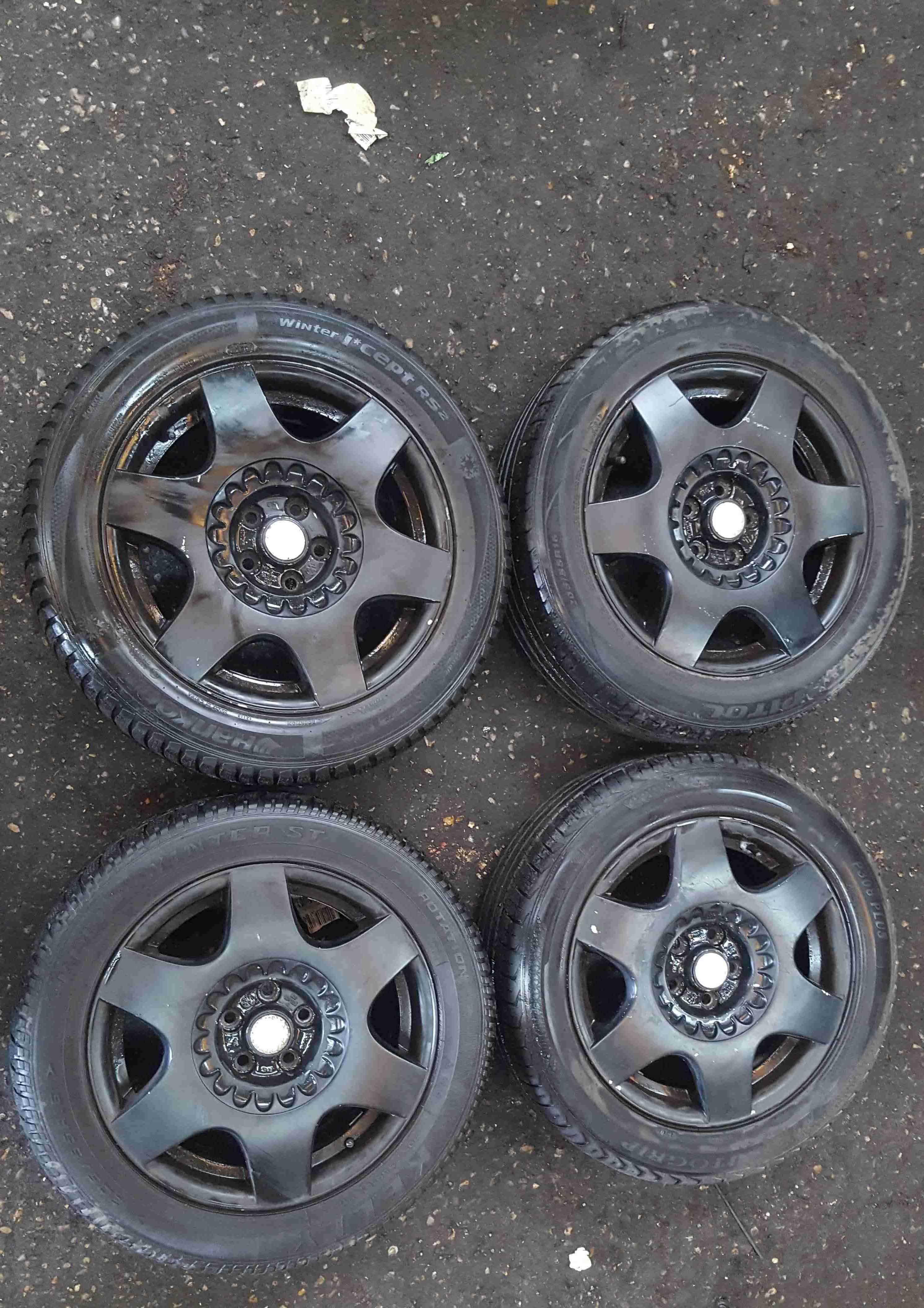 Volkswagen Beetle 1998-2006 Alloy Wheels Set X4 16inch Black