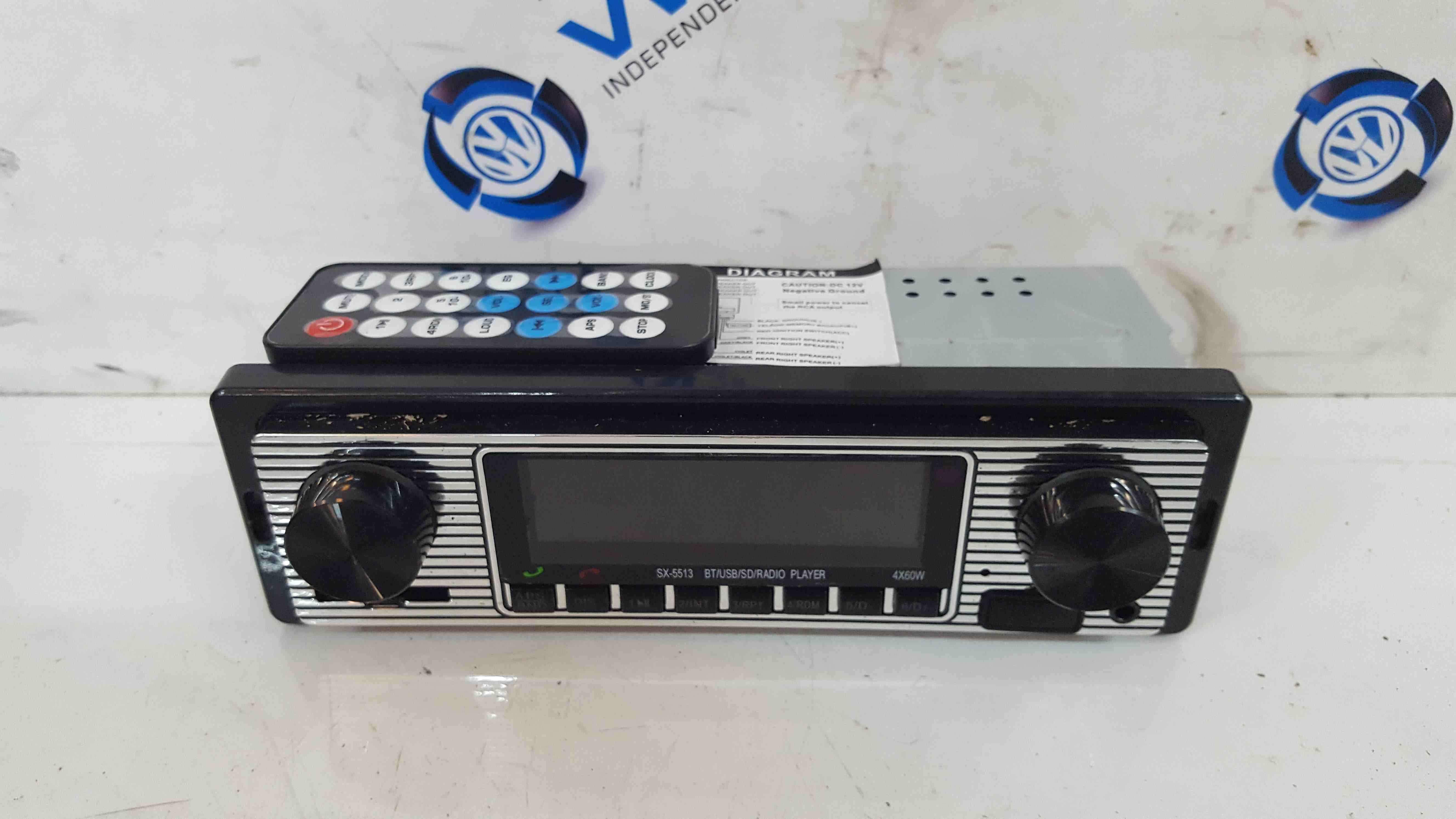 Volkswagen Beetle 1998-2006 Radio Cd Player Phone USB SX551