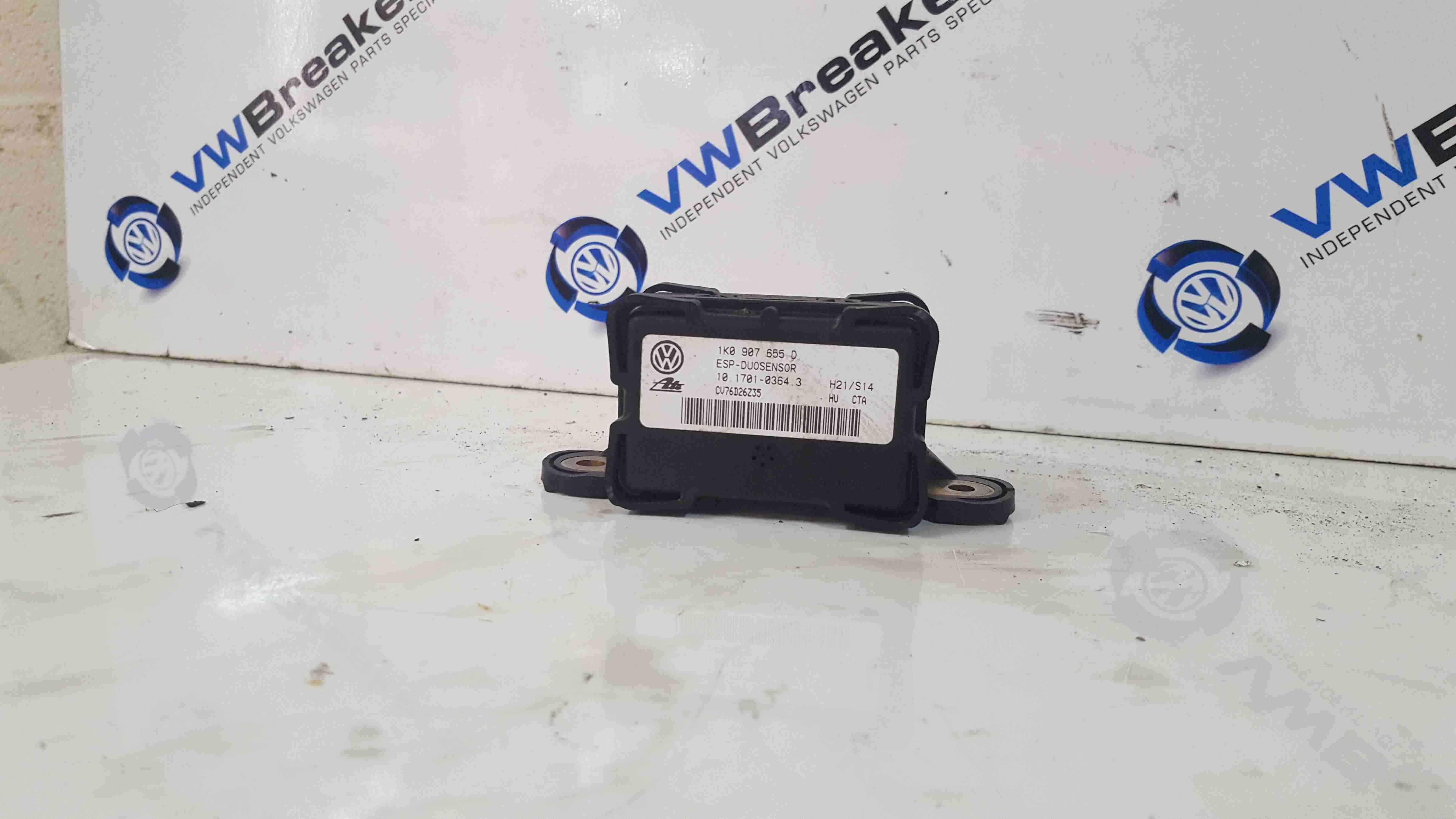 Volkswagen Beetle 1999-2006 ESP YAW Rate Acceleration Sensor 1K0907655D