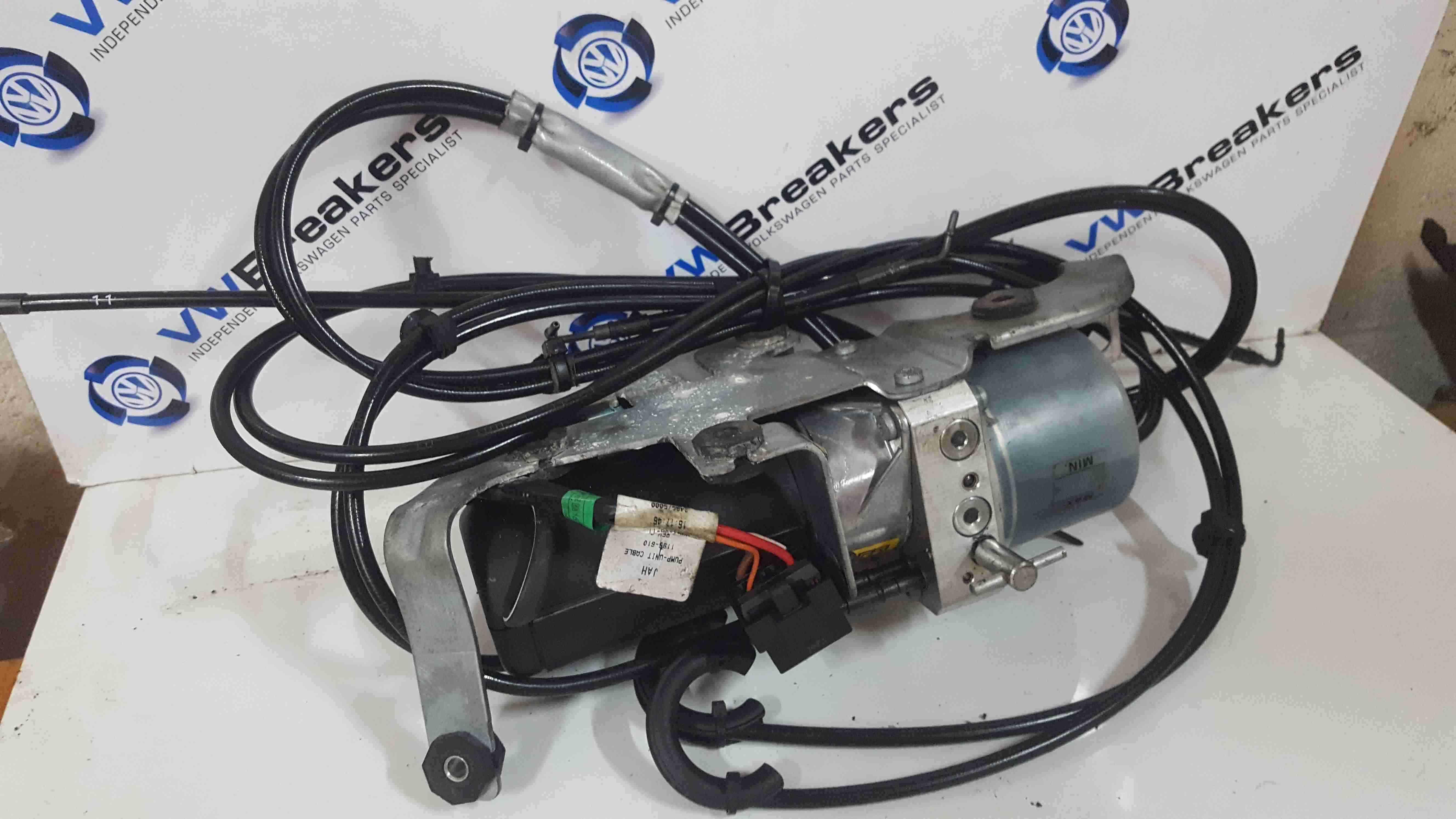 Volkswagen Beetle 2002-2011 Roof Motor Complete + Cables 1Y0871789C