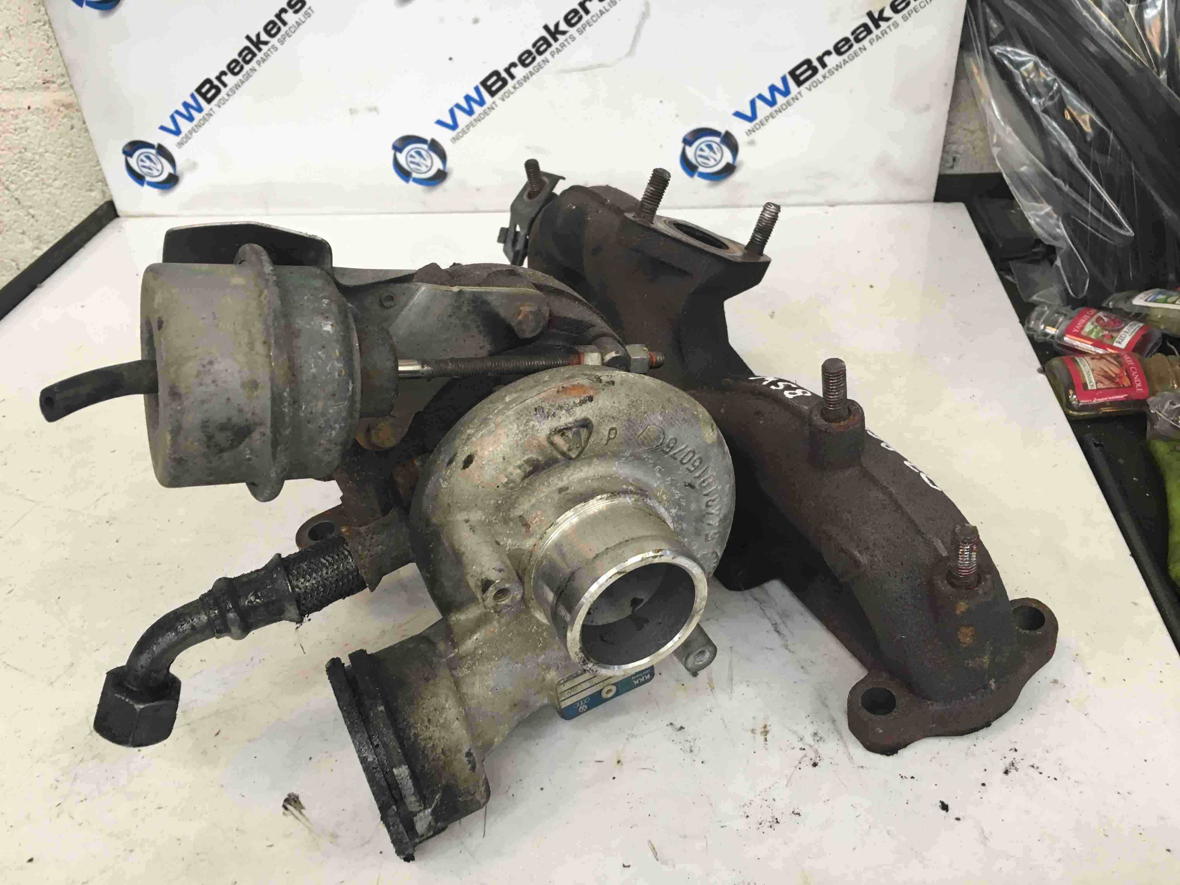 Volkswagen Beetle 2006-2011  1.9 TDi Turbo Charger Unit BSW 038253010H