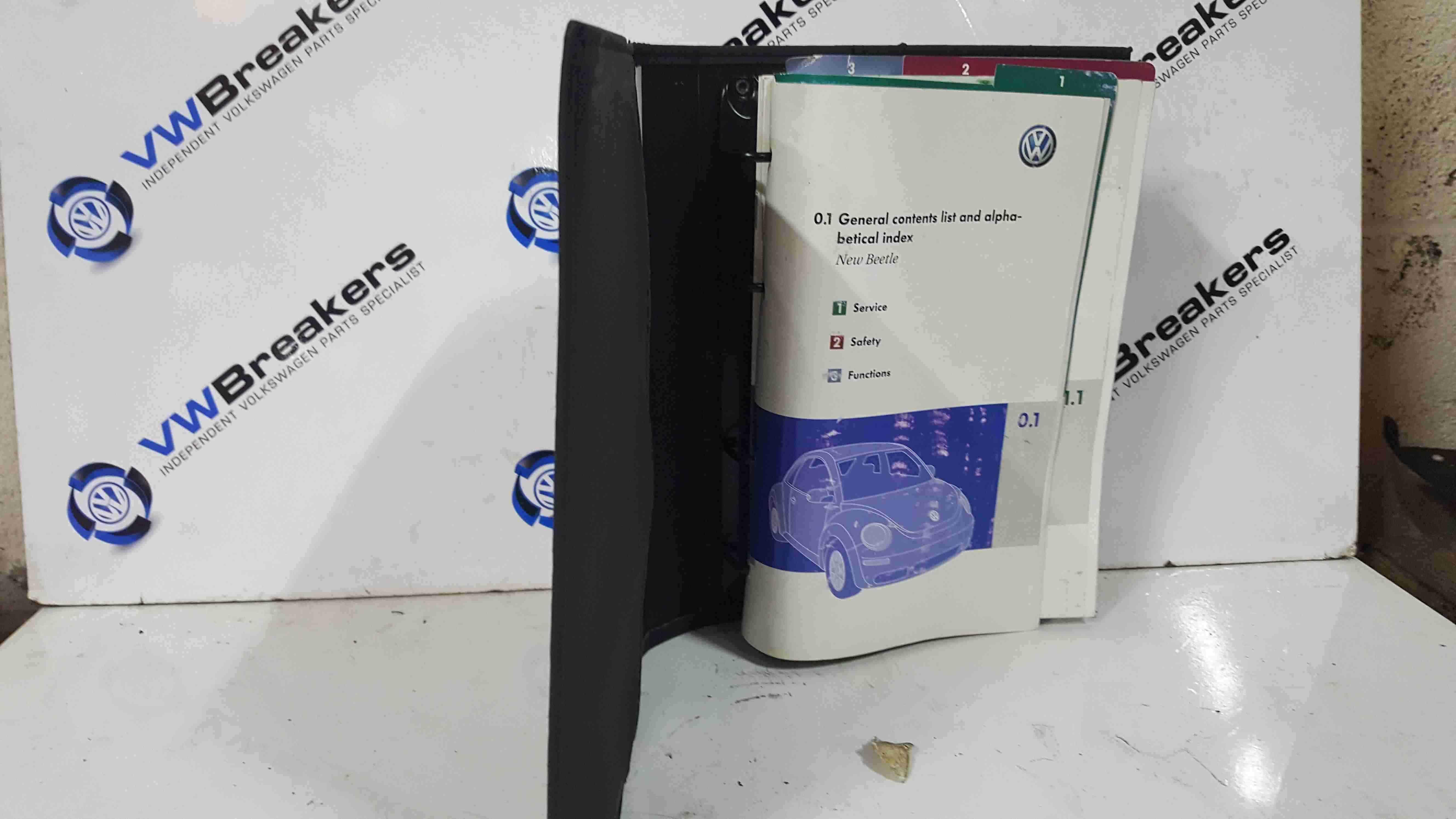 Volkswagen Beetle 2006-2011 Document Wallet Booklet