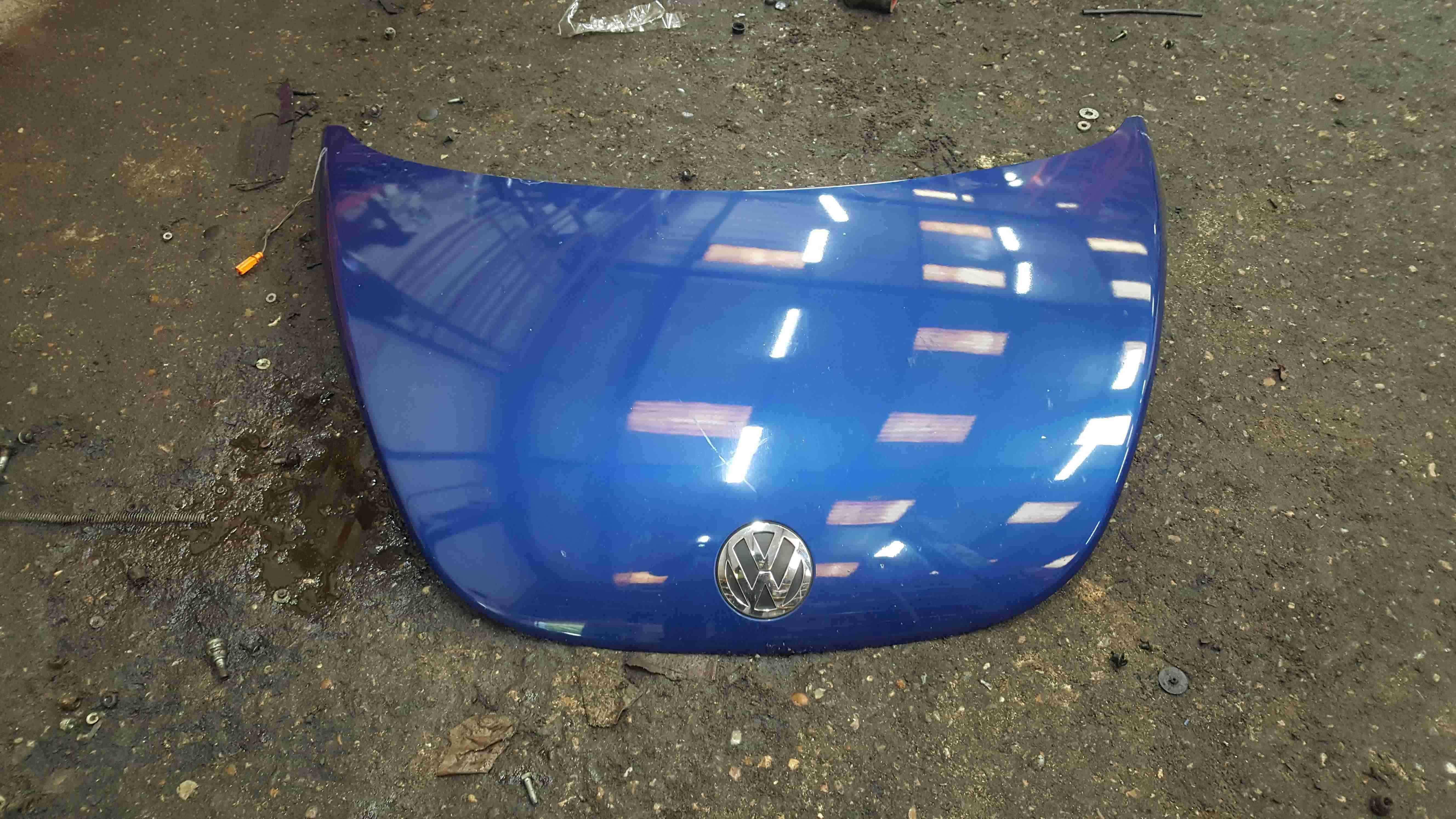 Volkswagen Beetle 2006-2011 Front Bonnet Blue LC5J