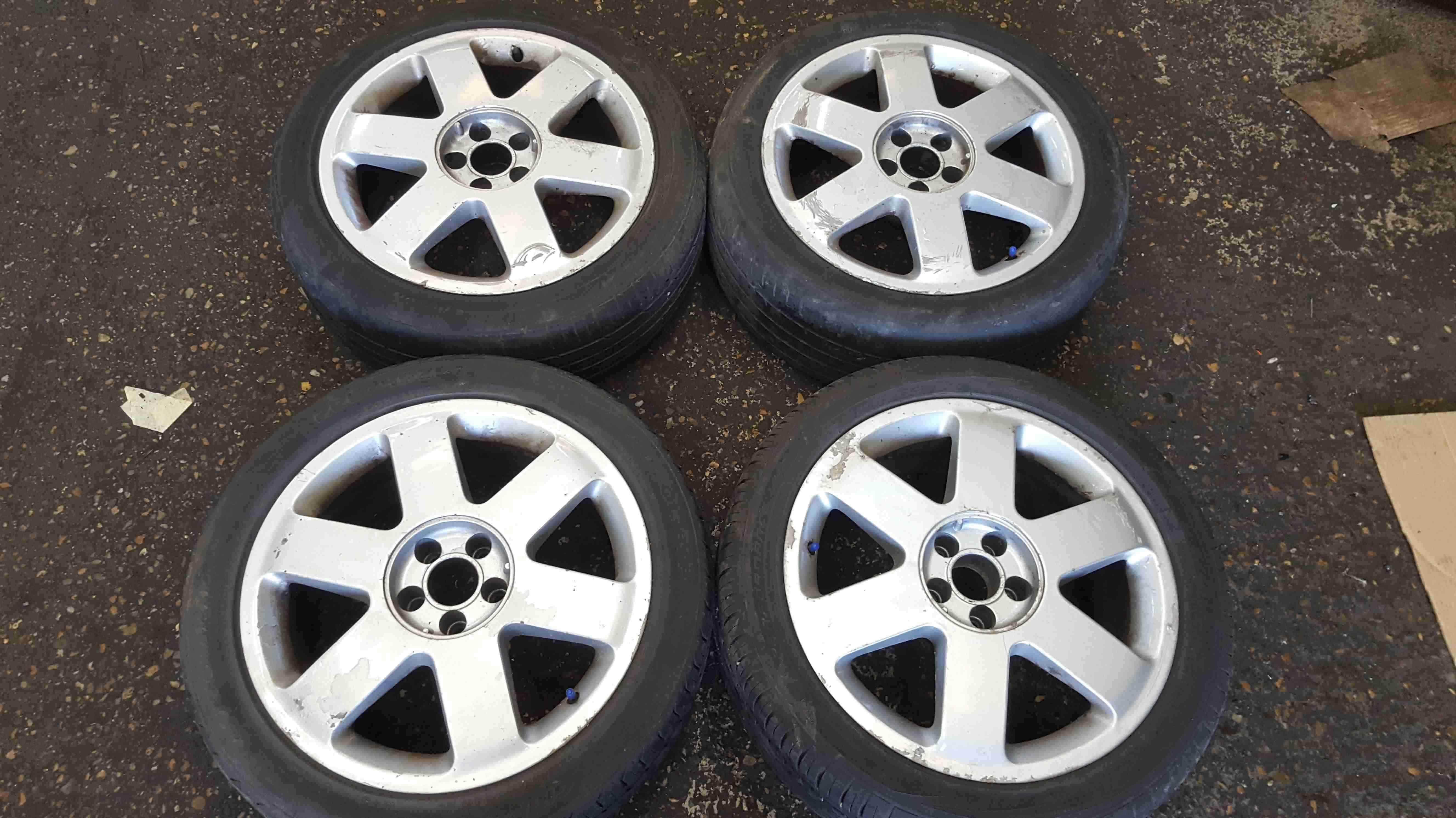 Volkswagen Beetle Audi TT 2002-2006 Ronal Alloy Wheels Set X4 17inch 8N0601025A