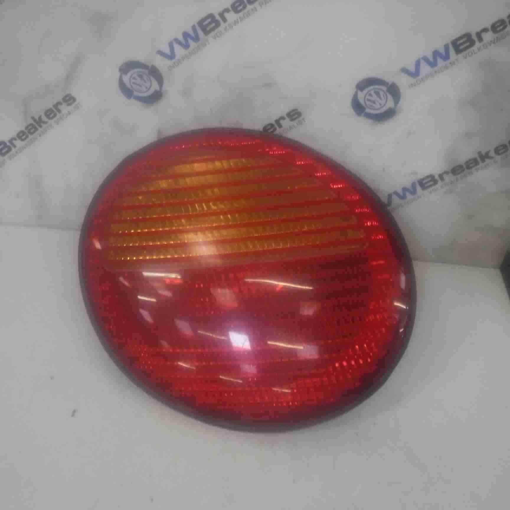 Volkswagen Beetle Convertible 1999-2006 Passenger NSR Rear Light Lens