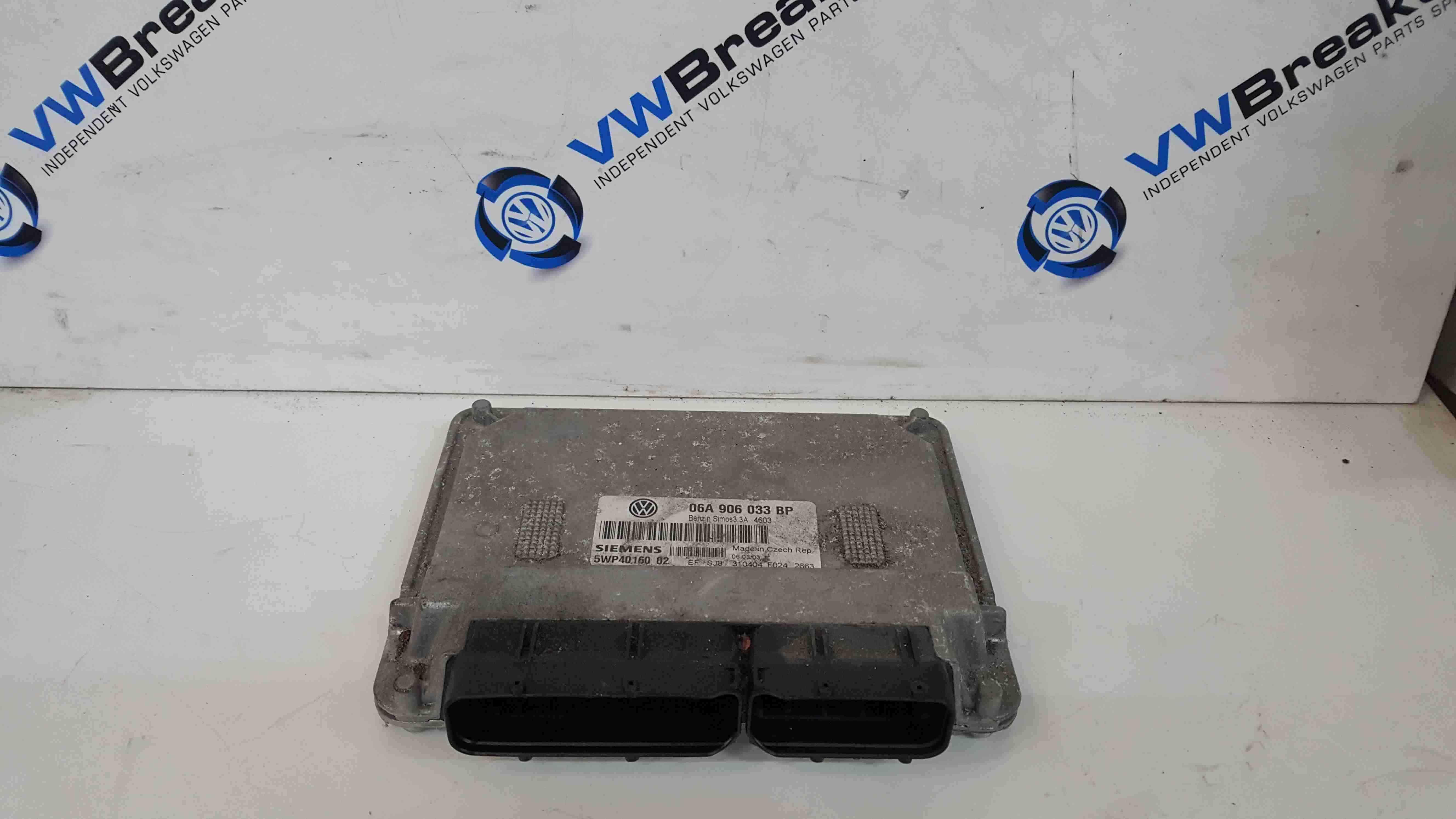 Volkswagen Beetle Convertible 2002-2006 1.6 Engine Control Unit