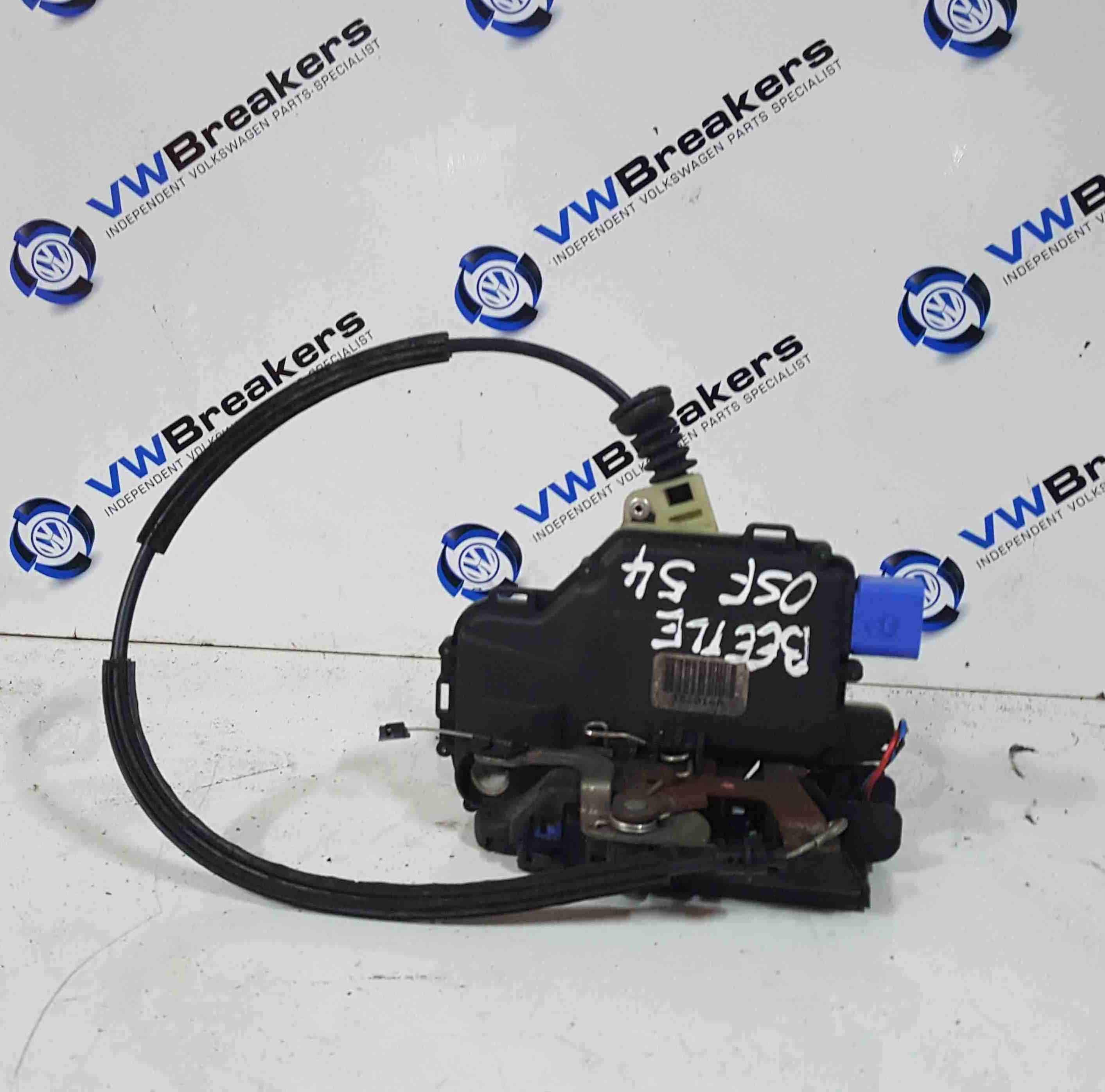 Volkswagen Beetle Convertible 2002-2006 Drivers OSF Front Door Lock Mechanism