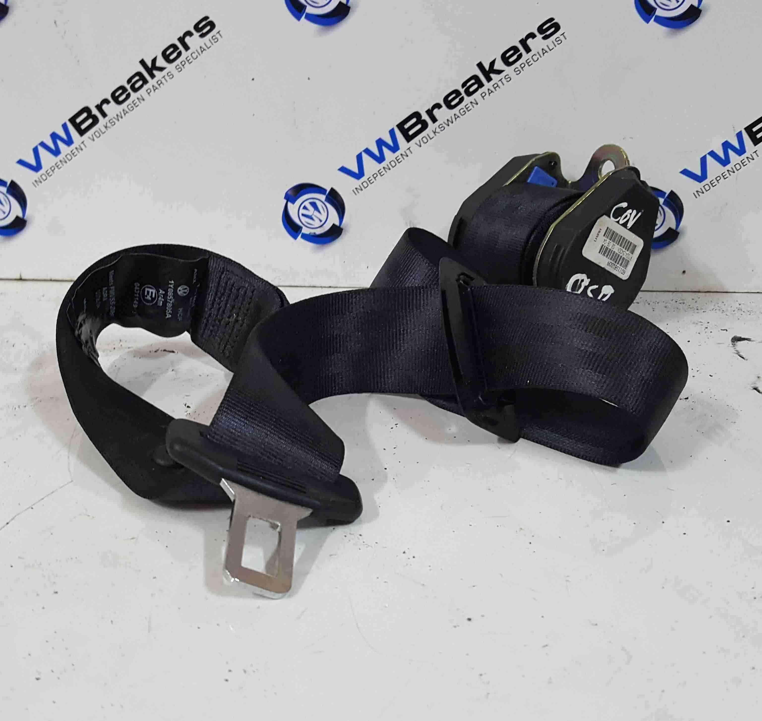 Volkswagen Beetle Convertible 2002-2006 Drivers OSR Rear Seat Belt