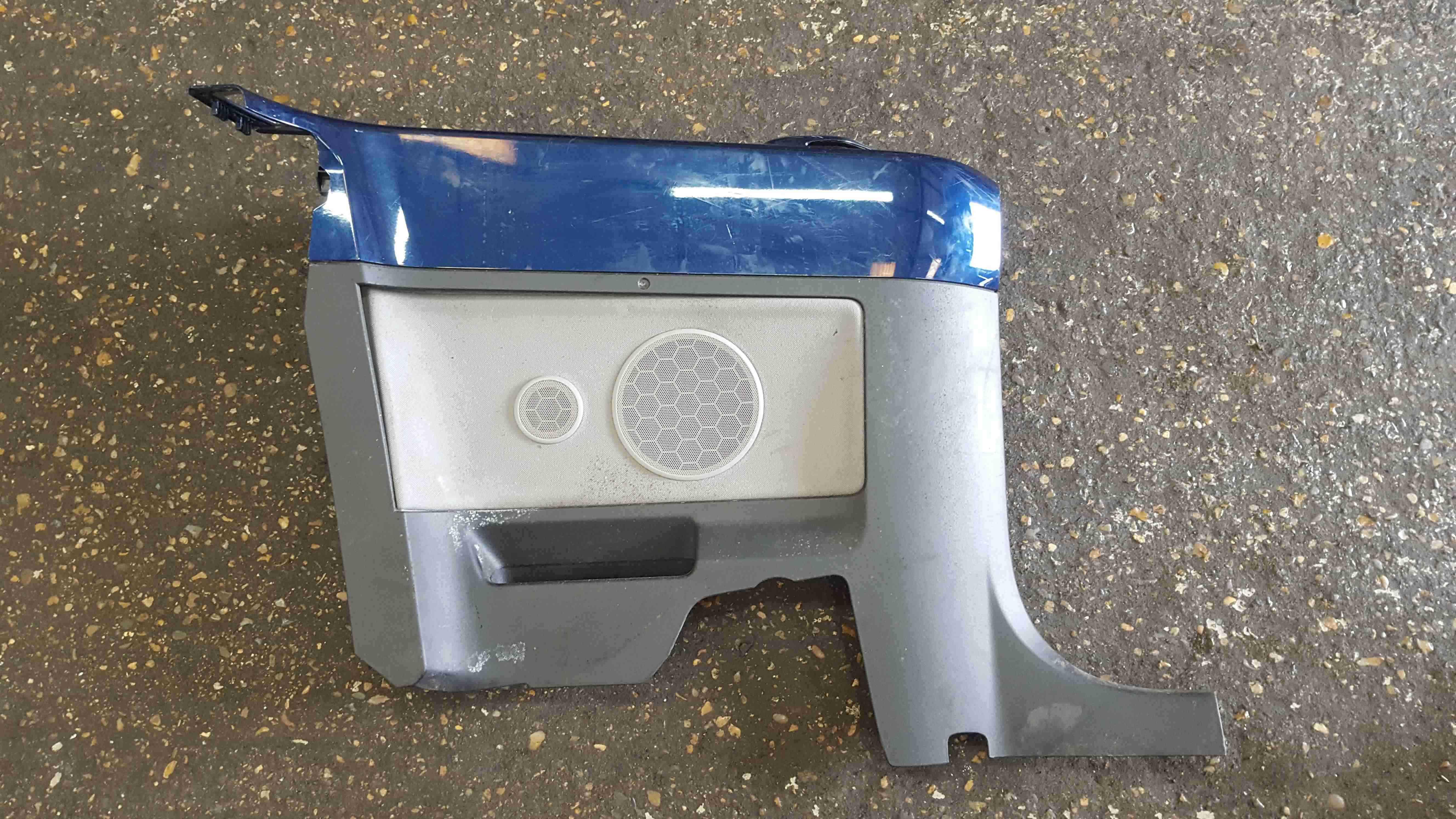 Volkswagen Beetle Convertible 2002-2006 Passenger NSR Rear Door Card Blue