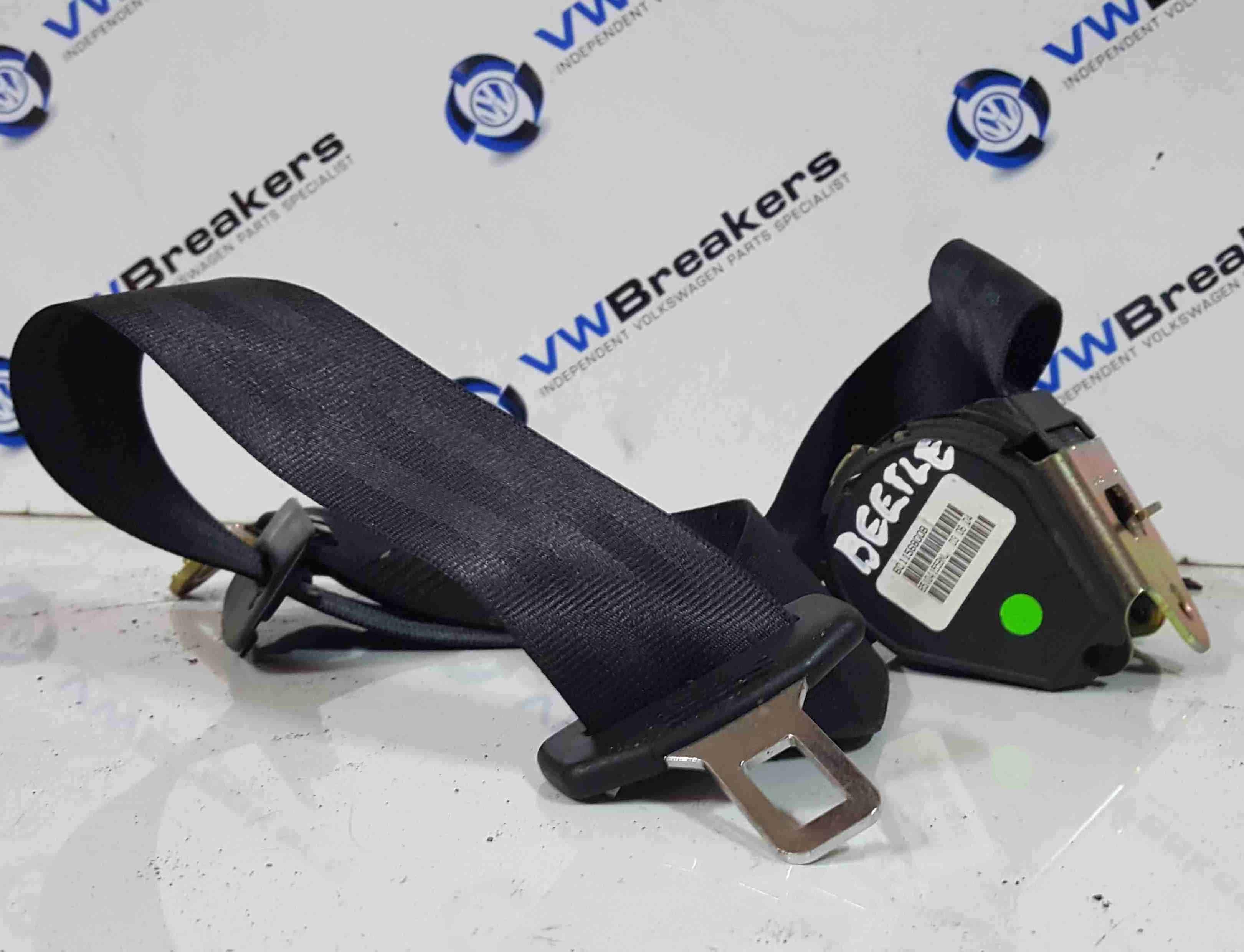 Volkswagen Beetle Convertible 2002-2006 Passenger NSR Rear Seat Belt