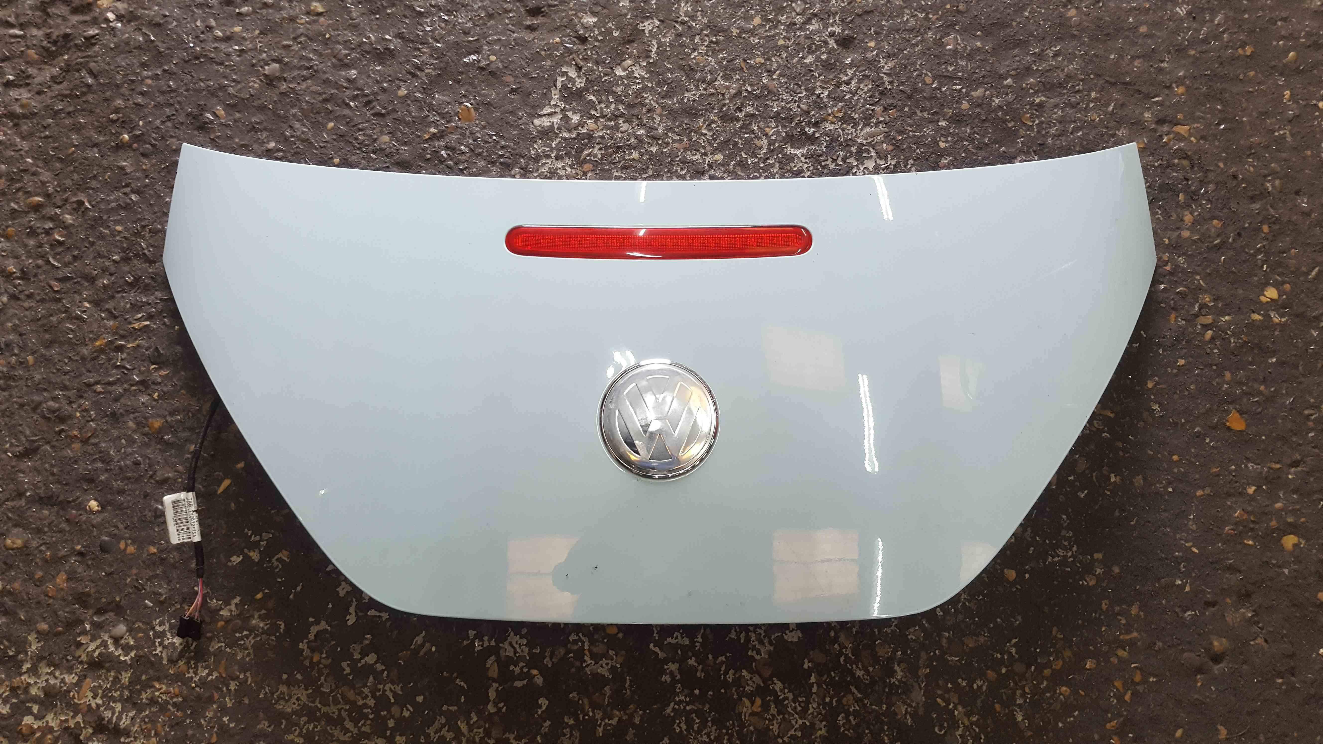 Volkswagen Beetle Convertible 2002-2006 Rear Boot Tailgate LB5B Blue