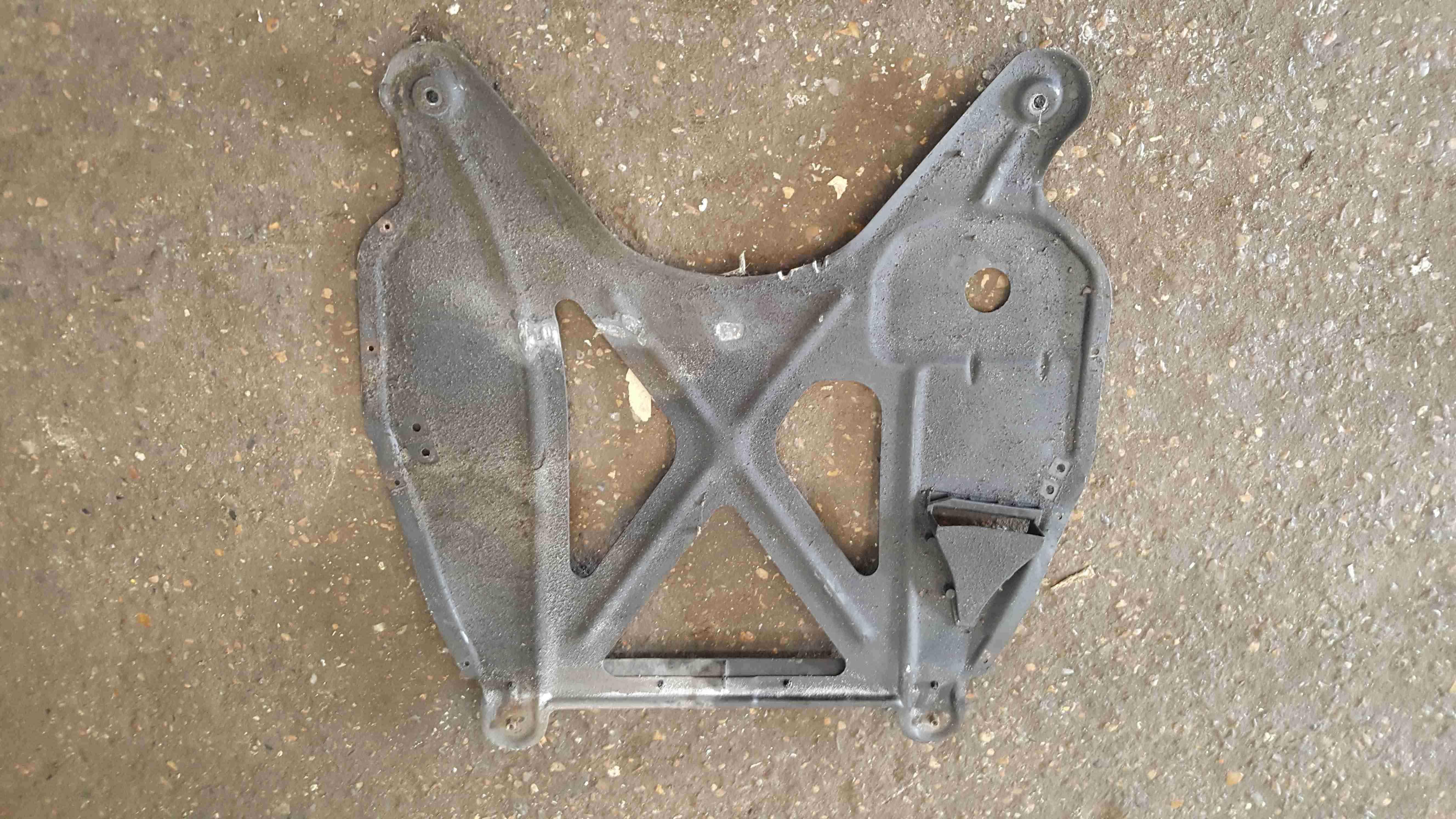 Volkswagen Beetle Convertible 2002-2006 Under Tray Panel