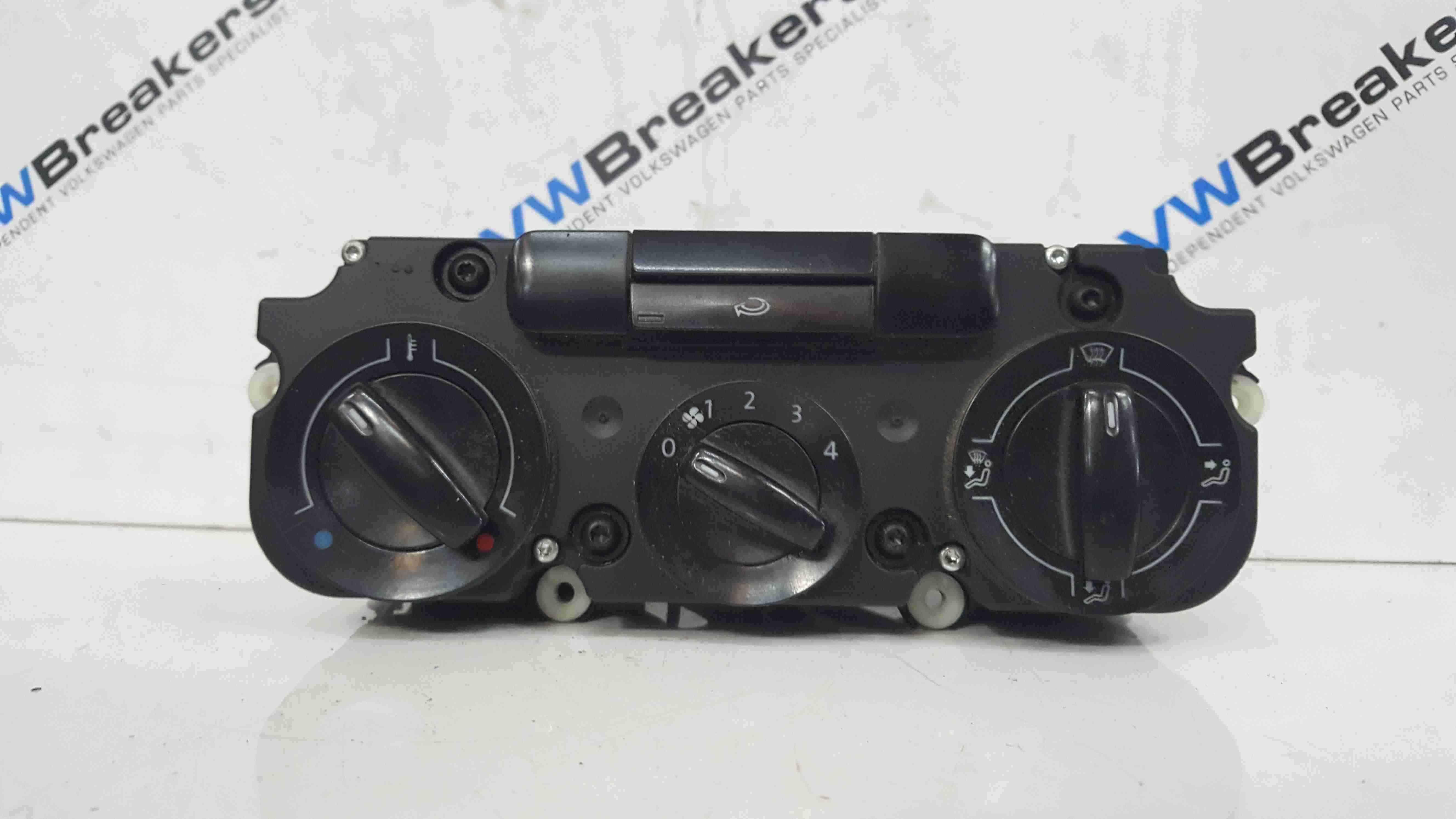 Volkswagen Caddy 2004-2010 Heater Controls Switch Panel