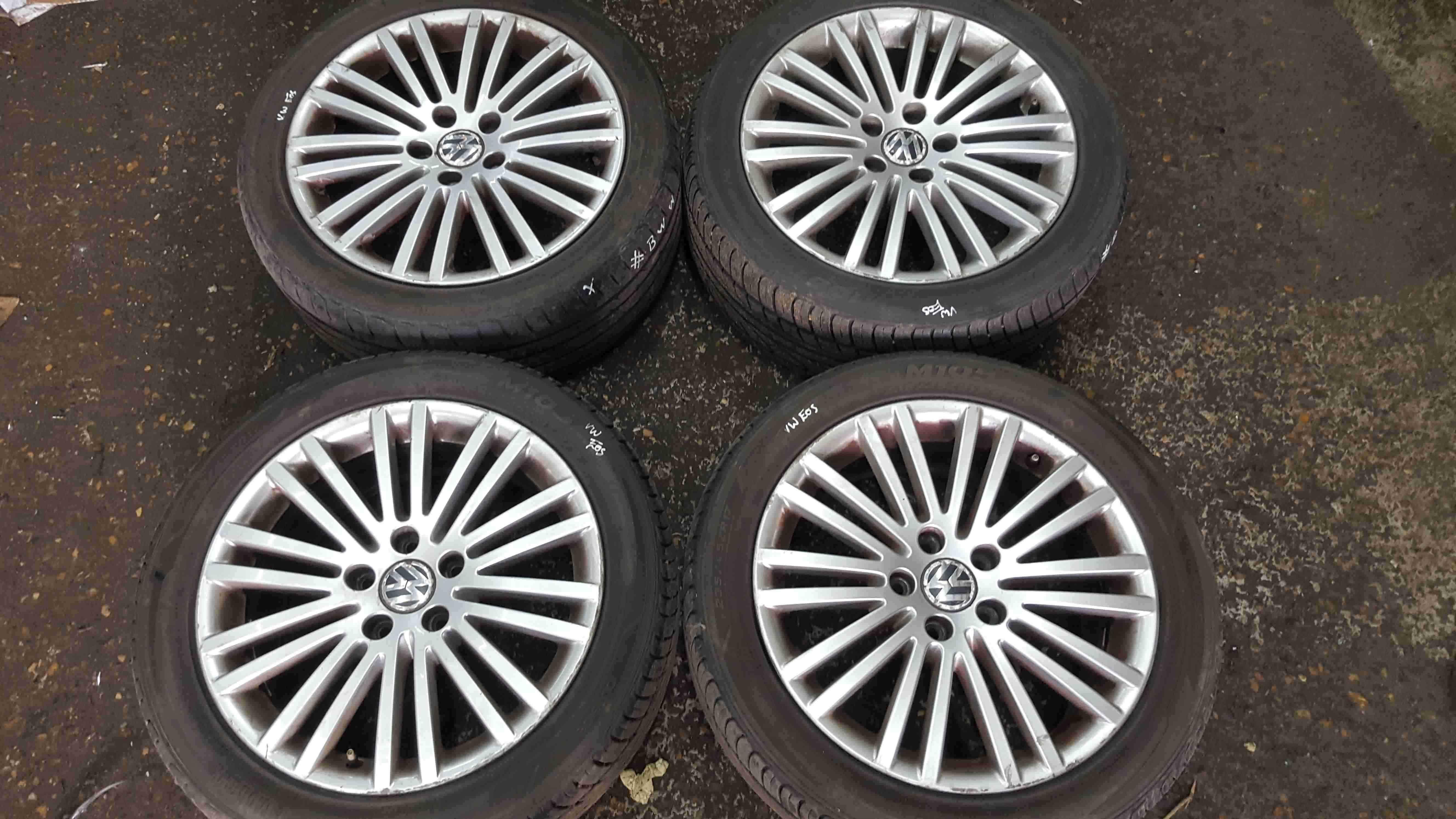 Volkswagen EOS 2006-2015 Alloy Wheels Set 17inch X4
