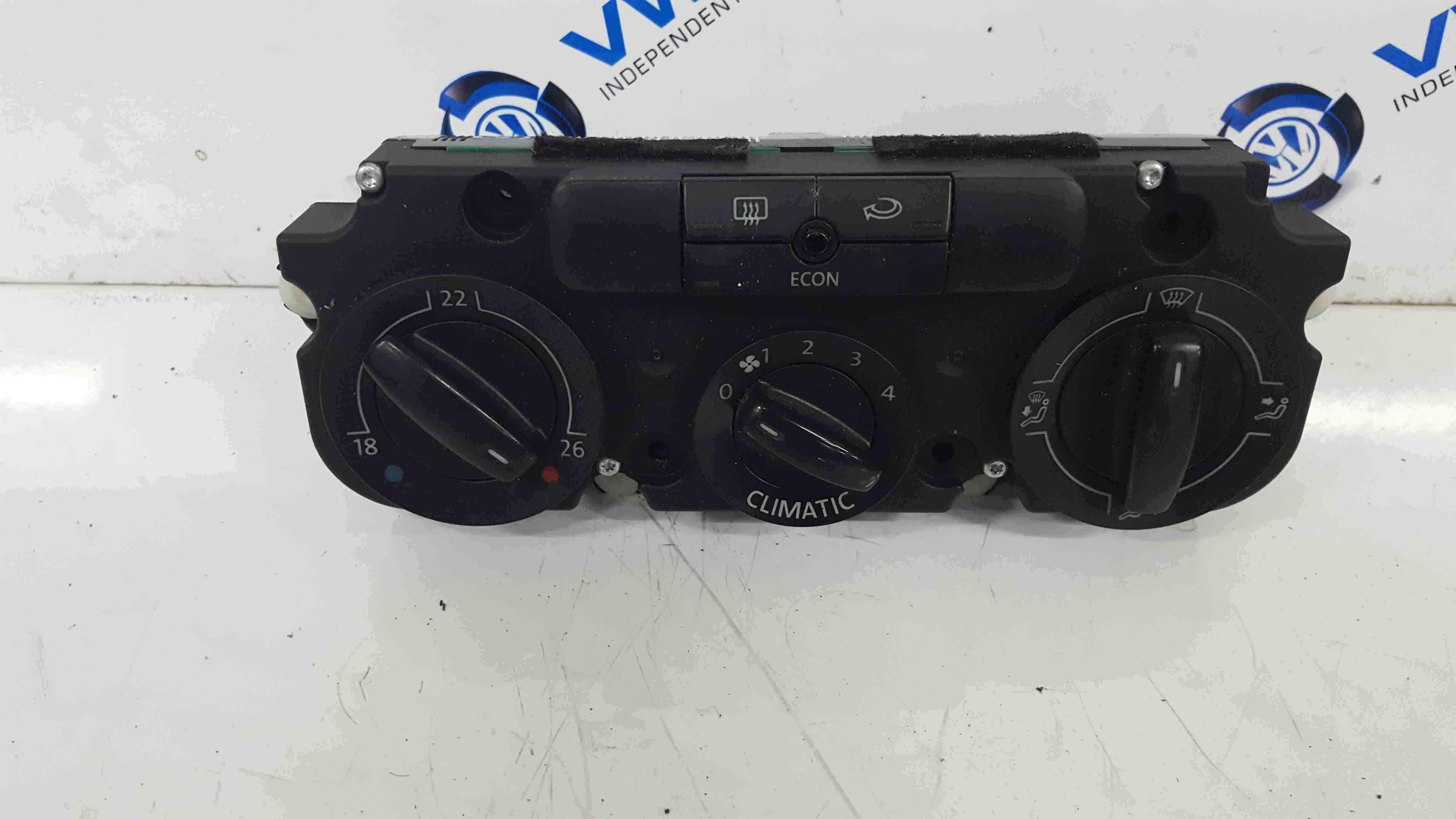 Volkswagen EOS 2006-2015 Heater Controls Dials Switches 5HB008719
