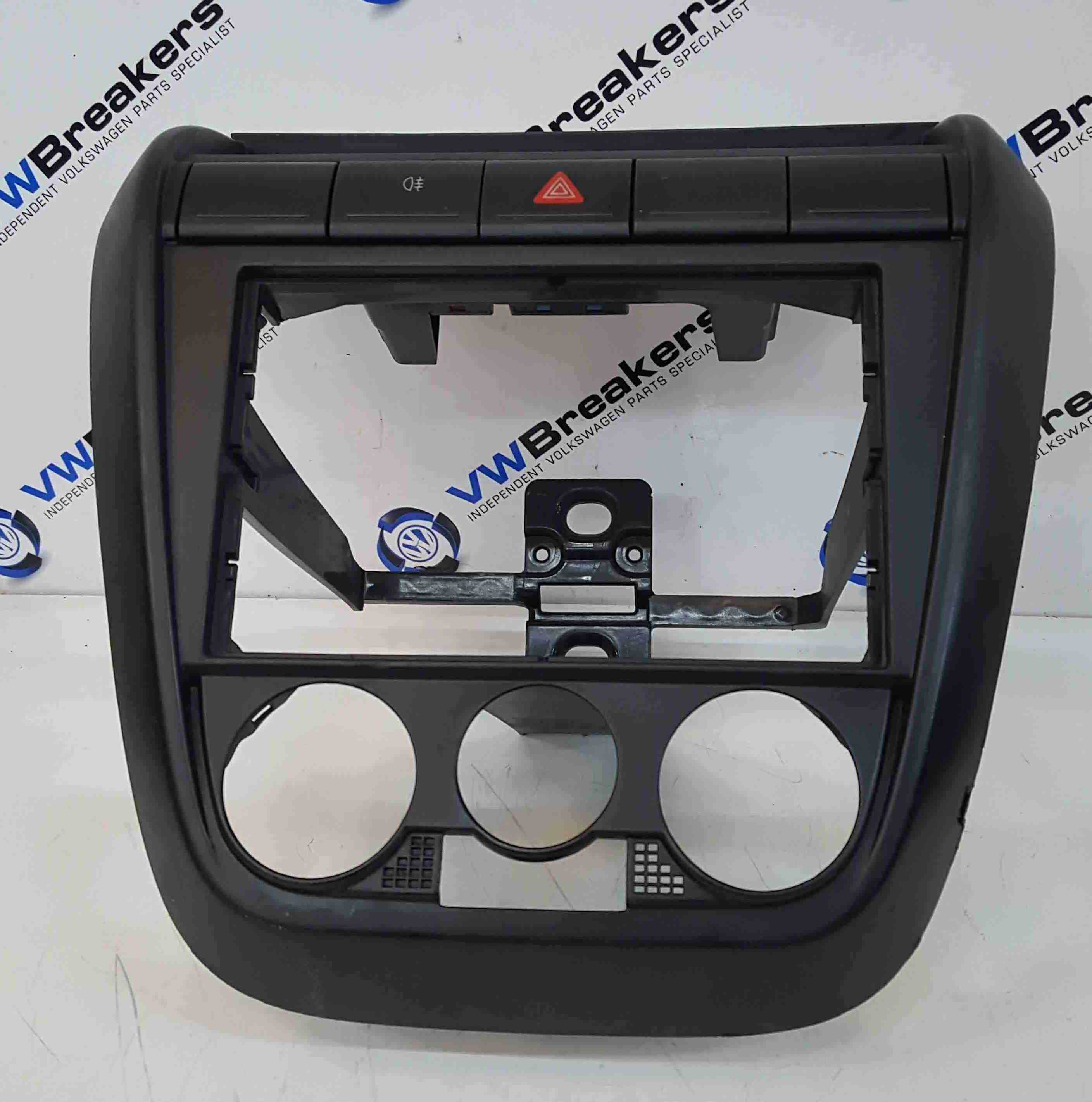 Volkswagen Fox 2005-2011 Centre Console Surround Dash Hazard 5Z0858061A
