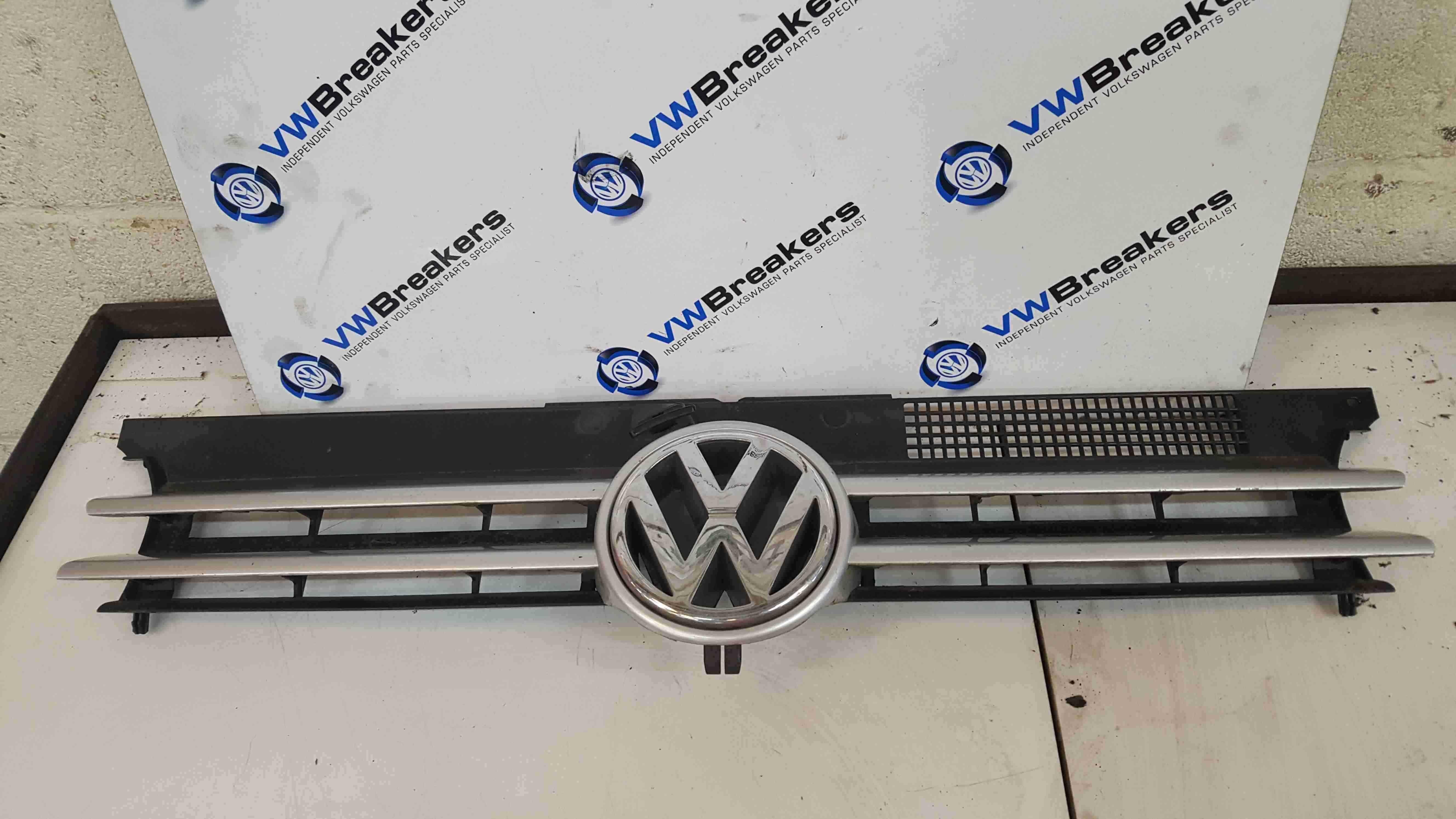 Volkswagen Golf Est MK4 1997-2004 Front Bumper Grill Insert Silver LA7W