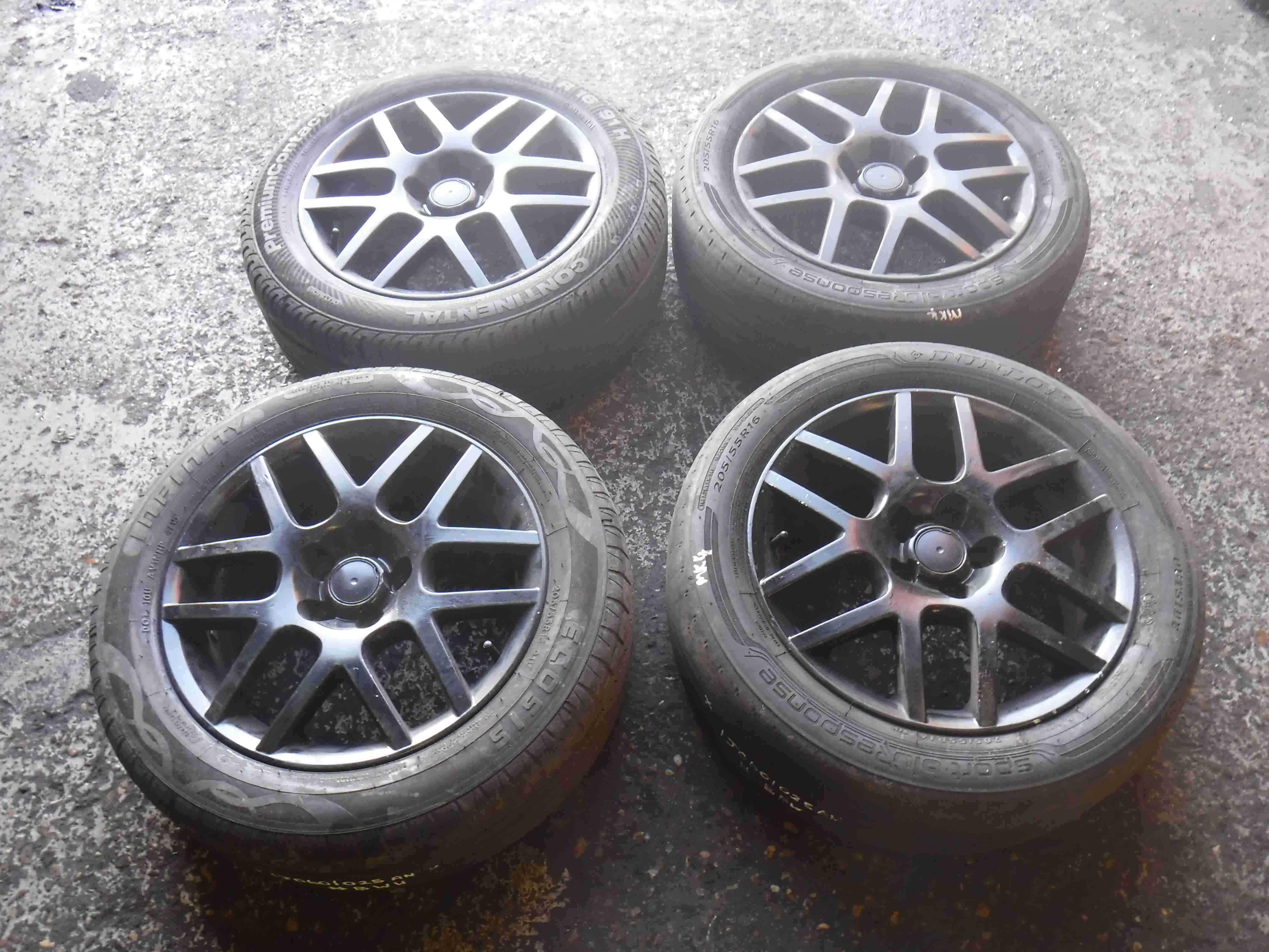 Volkswagen Golf MK4 1997-2004 BBS Alloy Wheels Set 16inch