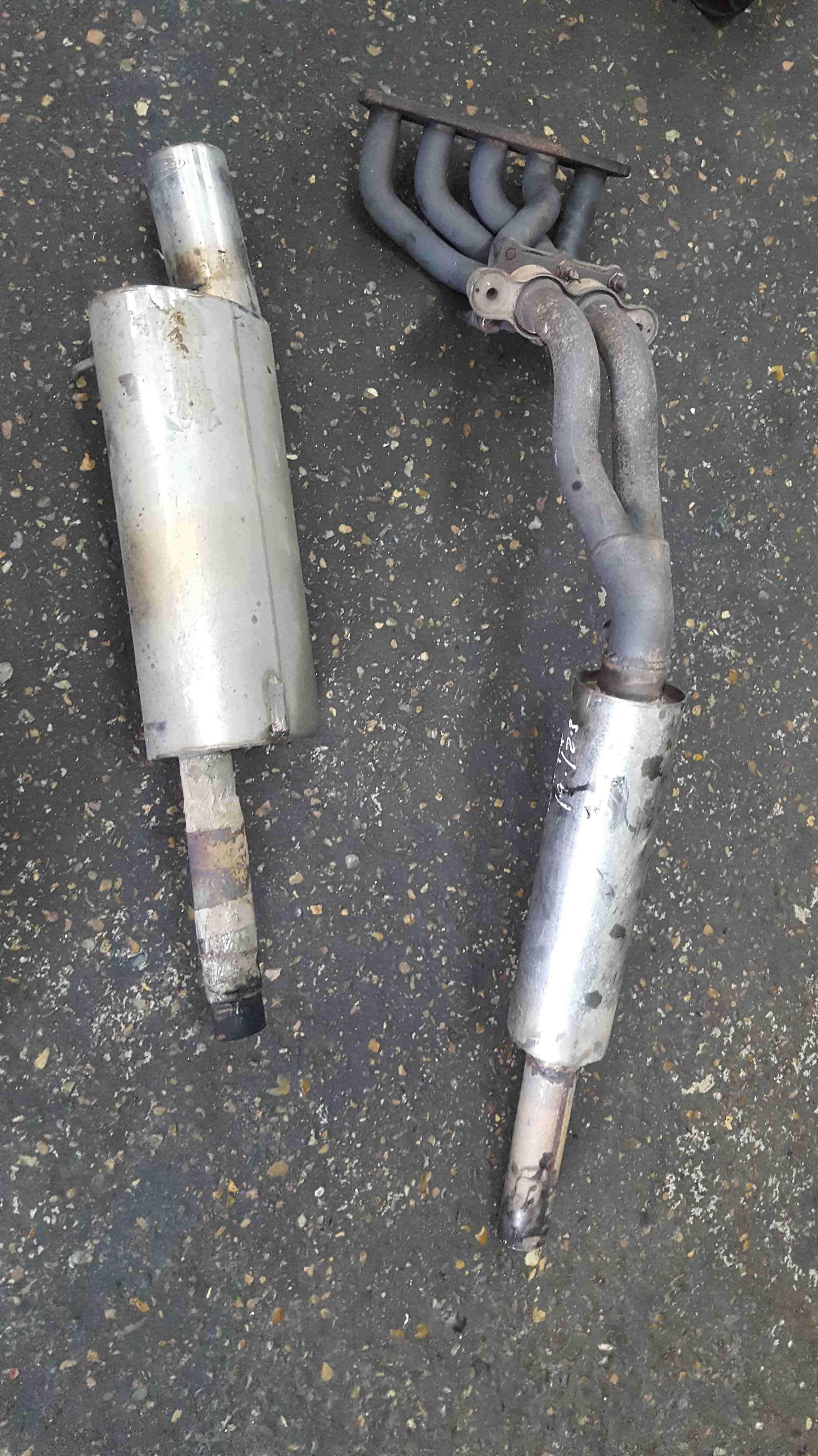 Volkswagen Golf MK4 1997-2004 Piper Exhaust System 2.3 V5
