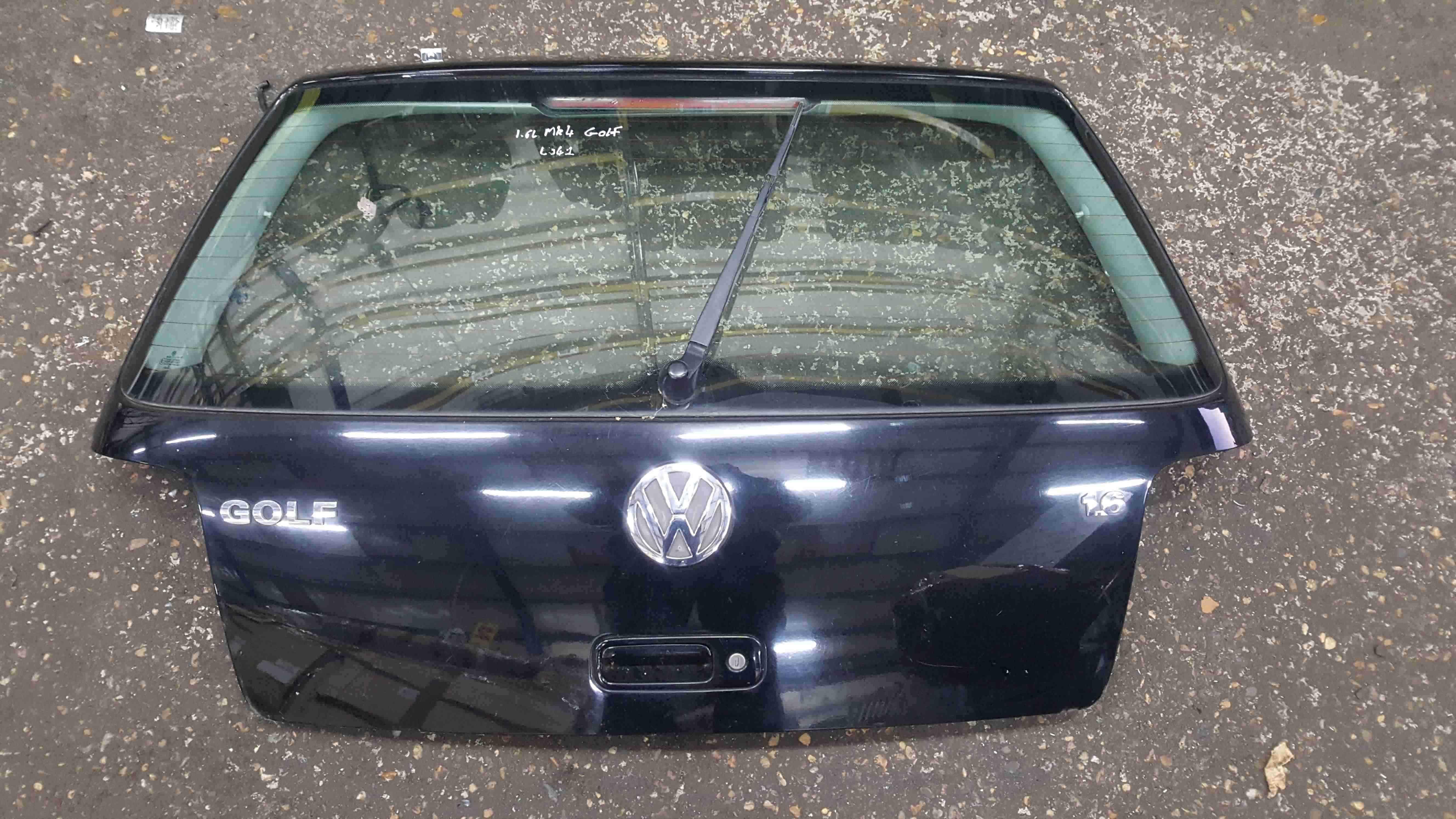 Volkswagen Golf MK4 1997-2004 Rear Tailgate Boot Black L041