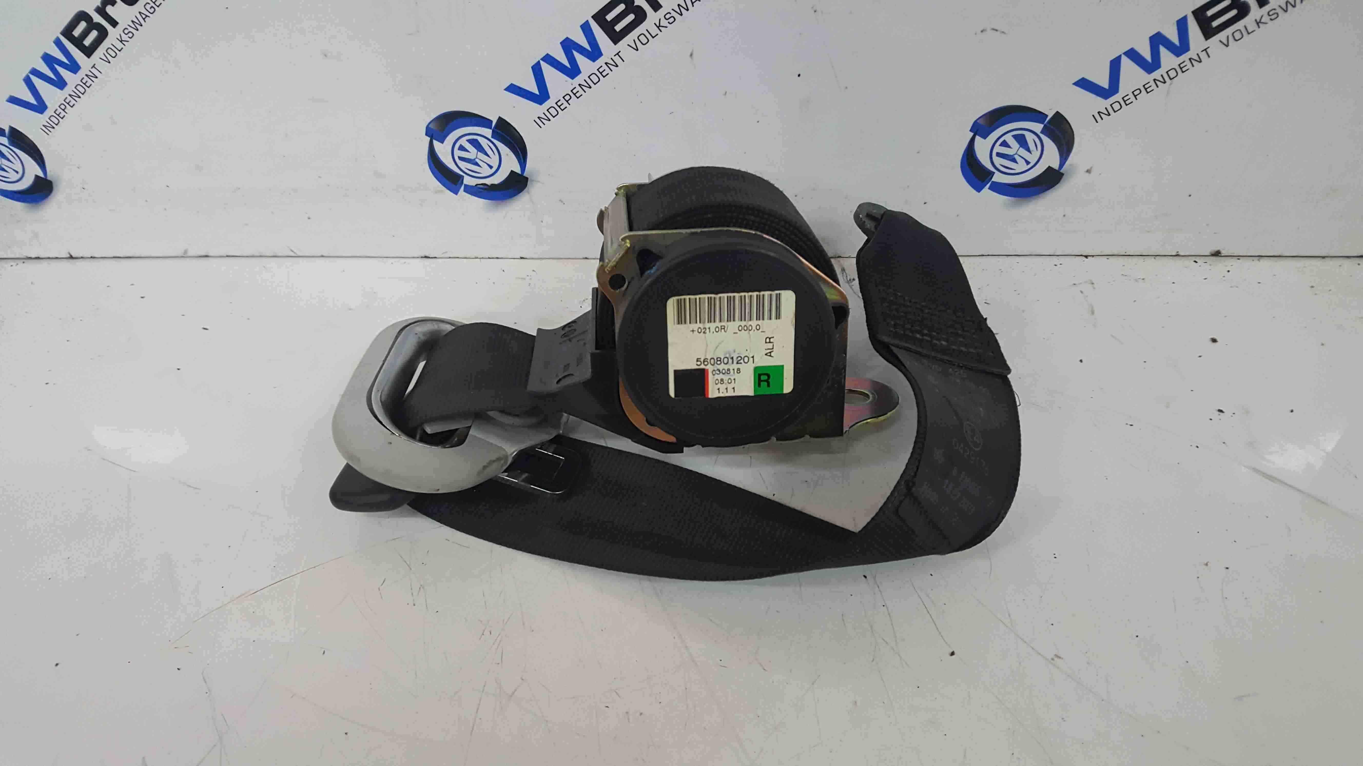 Volkswagen Golf MK4 Estate 1997-2004 Drivers OSR Rear Seat Belt