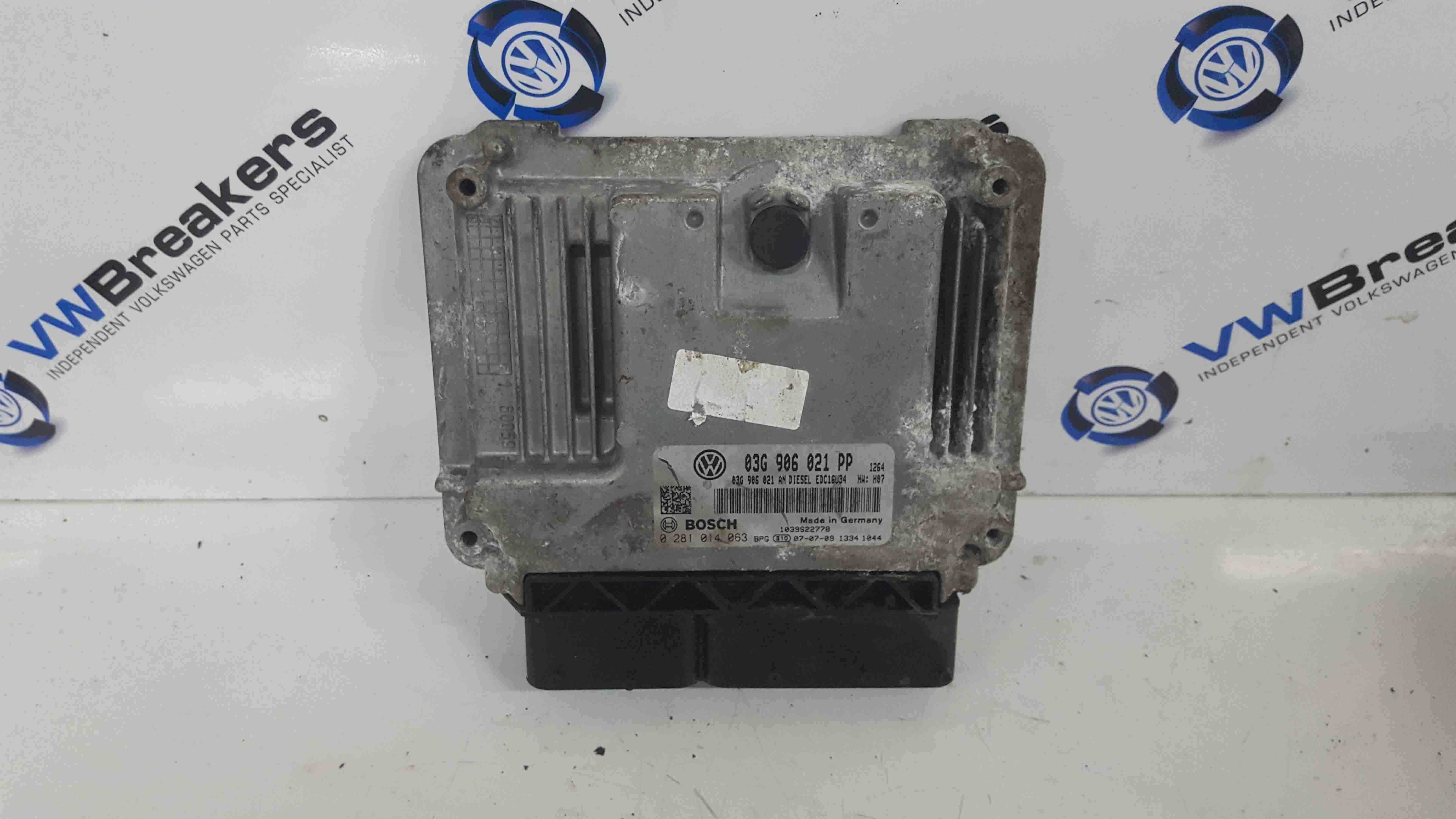 Volkswagen Golf MK5 2003-2009 2.0 TDi Engine Control Unit ECU 03g906021PP