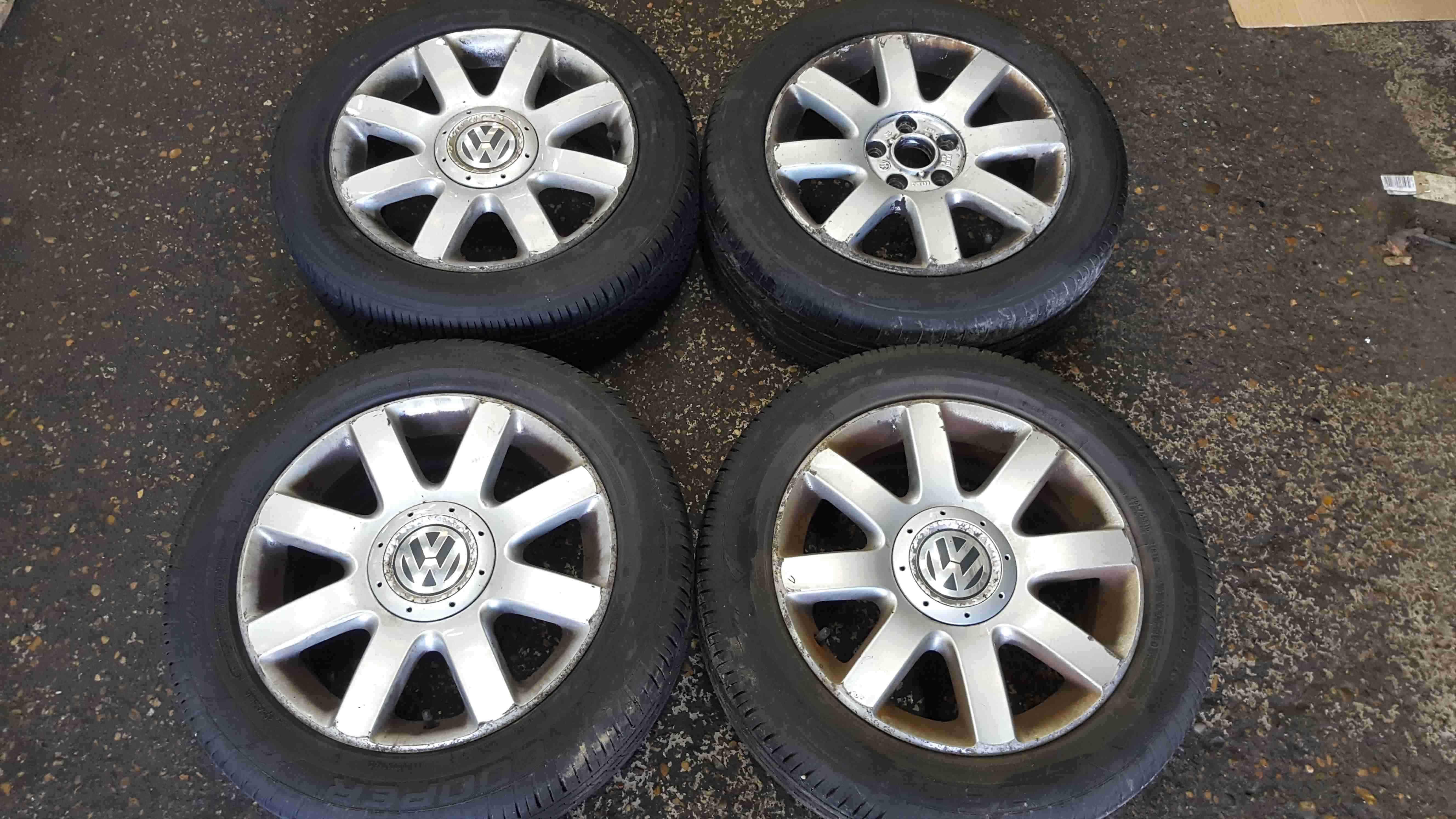 Volkswagen Golf MK5 2003-2009 Alloy Wheels Set X4 16inch