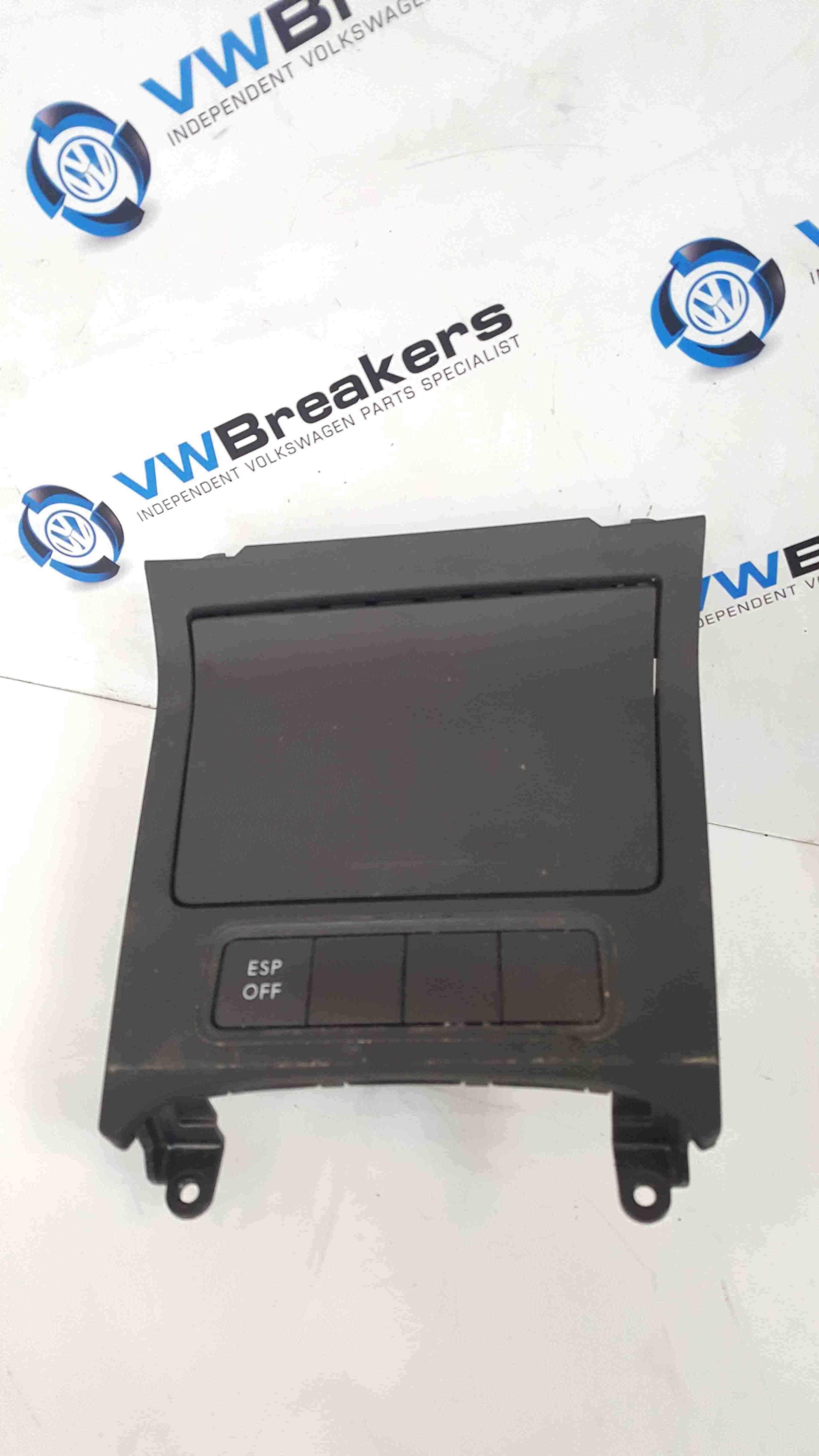 Volkswagen Golf MK5 2003-2009 Ashtray Compartment Tray Socket ESP Off