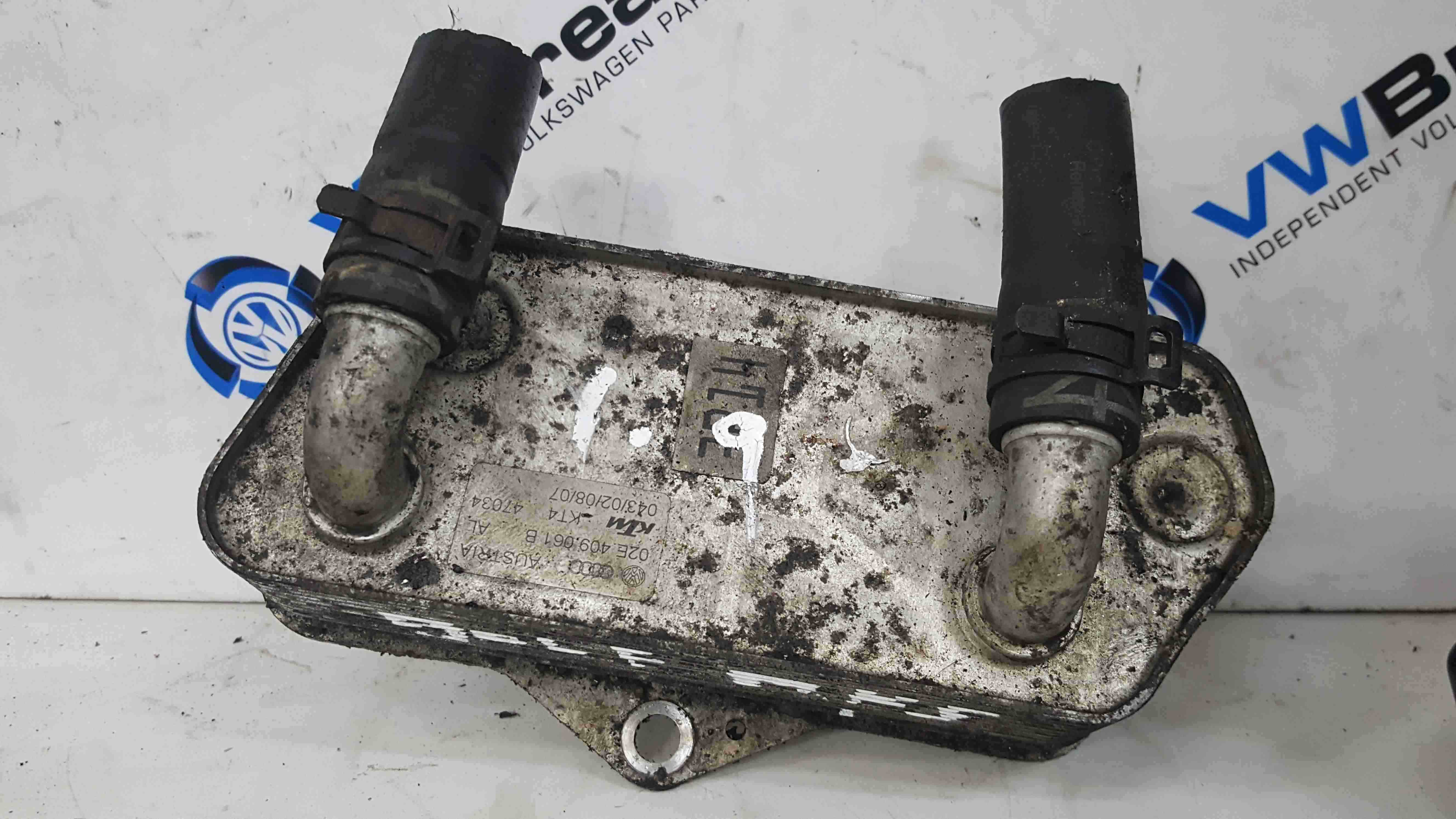 Volkswagen Golf MK5 2003-2009 Automatic Gearbox Transmission Oil Cooler