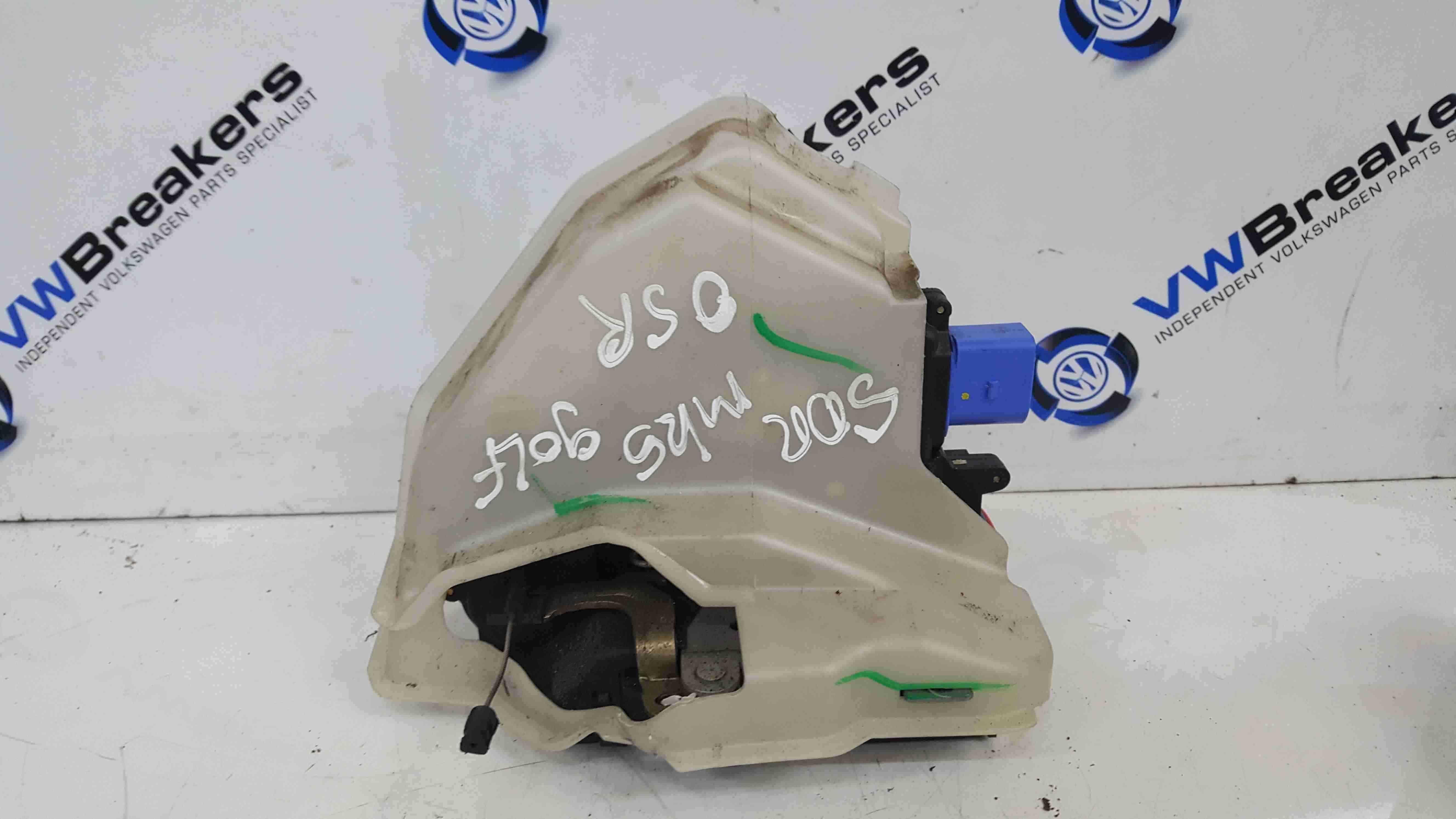 Volkswagen Golf MK5 2003-2009 Drivers OSR Rear Door Lock Mechanism 5dr