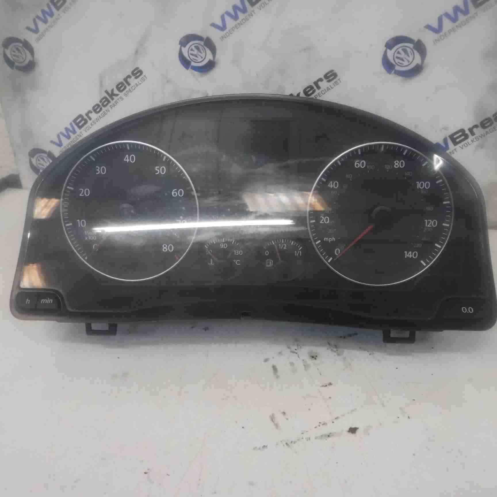 Volkswagen Golf MK5 2003-2009 Instrument Panel Dials Gauges Clocks Cluster 143k