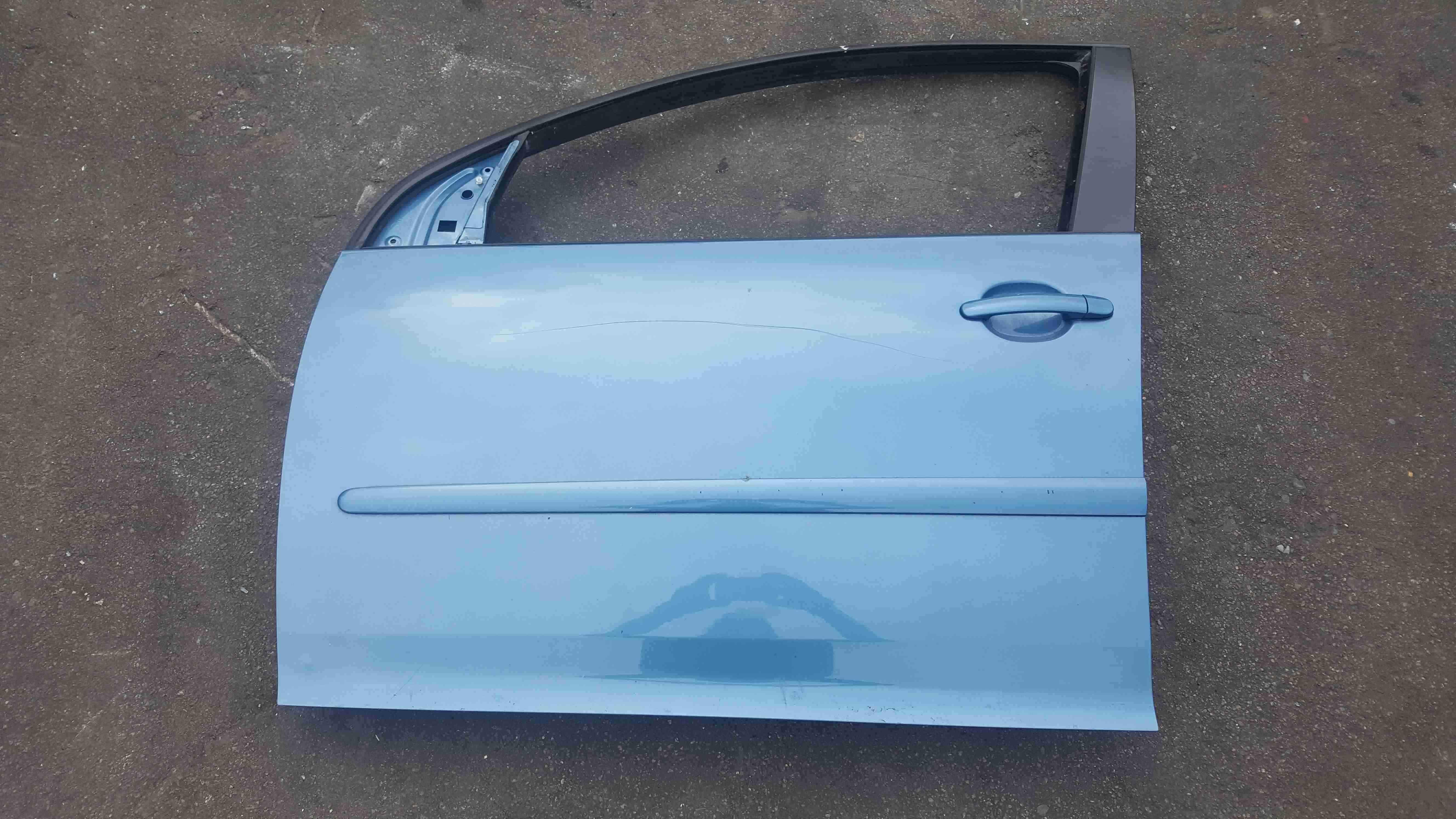 Volkswagen Golf MK5 2003-2009 Passenger NSF Front Door Blue LA5S 5dr