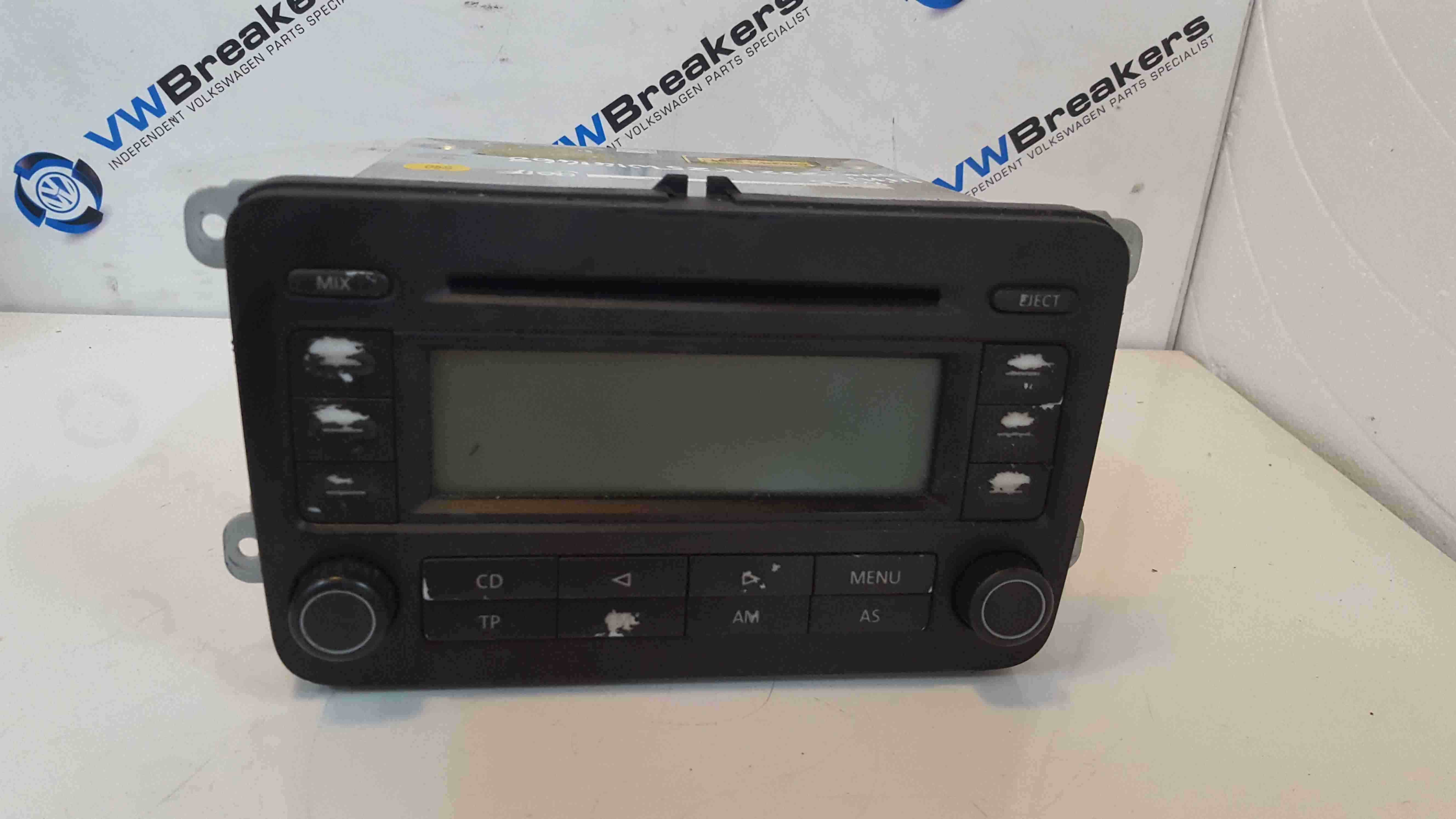 Volkswagen Golf MK5 2003-2009 Radio Cd Player Head Unit 1K0035186L