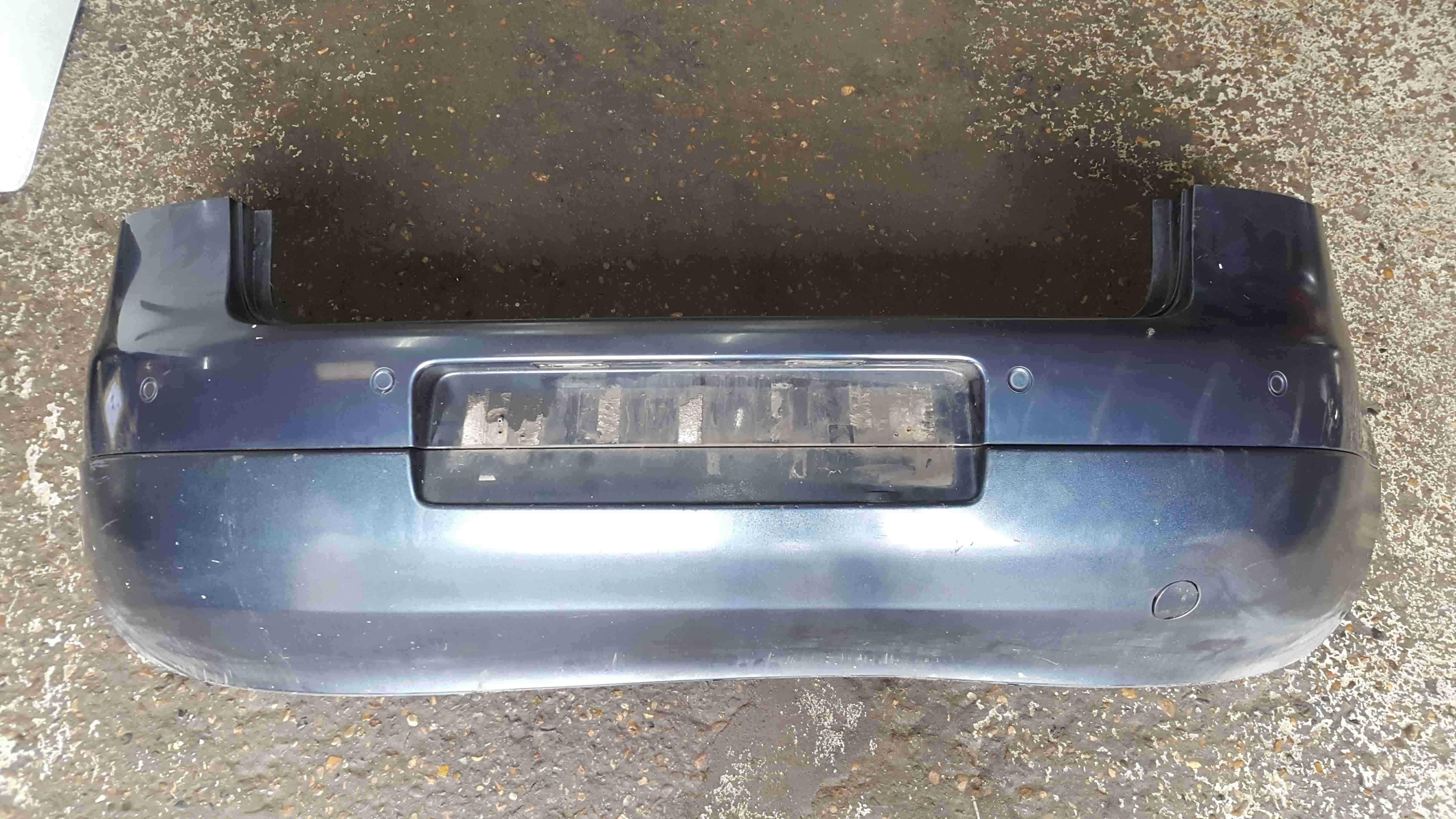 Volkswagen Golf MK5 2003-2009 Rear Bumper Blue Grey LC5F Reversing Sensors