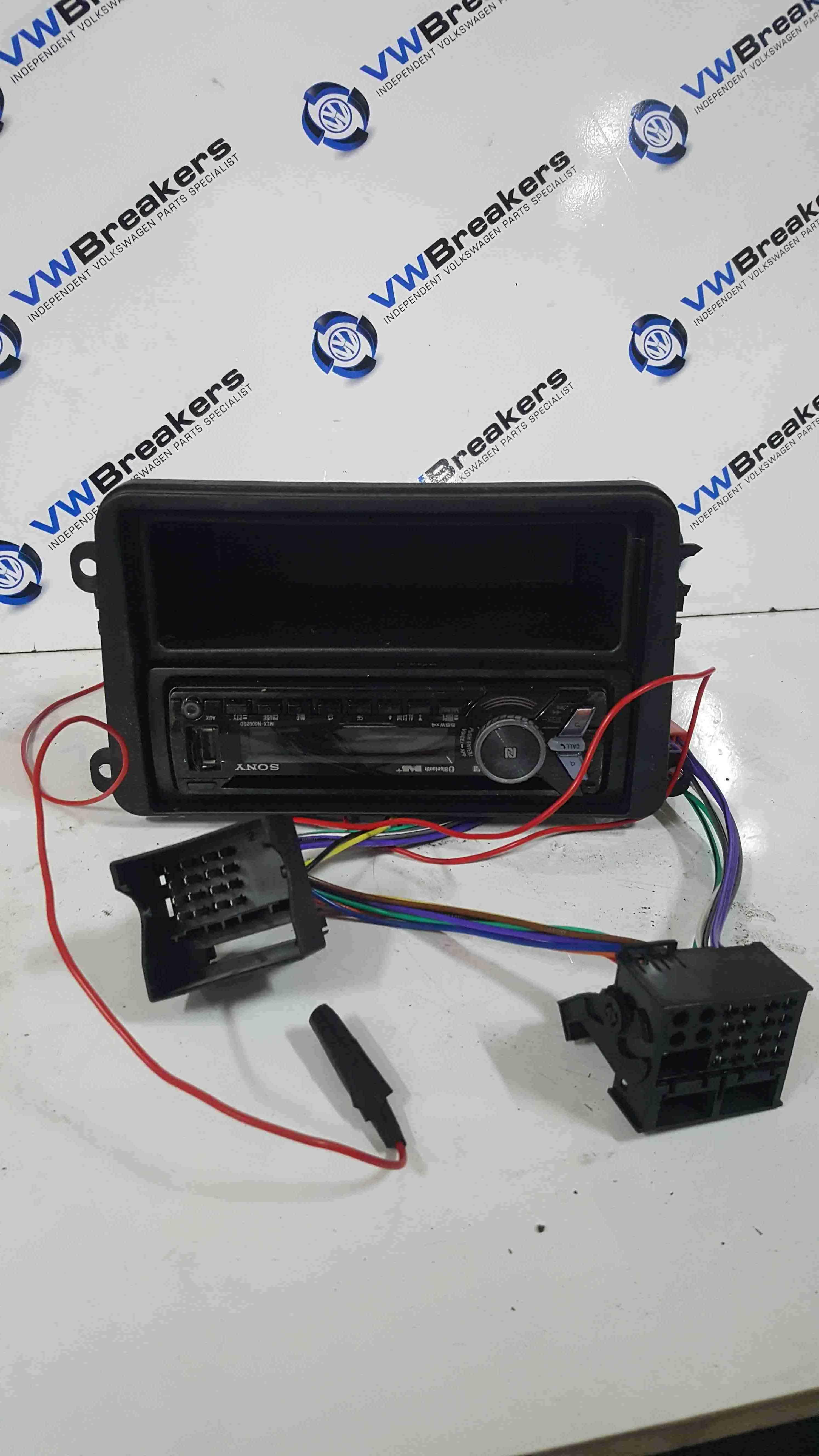 Volkswagen Golf MK5 2003-2009 Sony Radio Cd Player Bluetooth DAB MEXN60028D