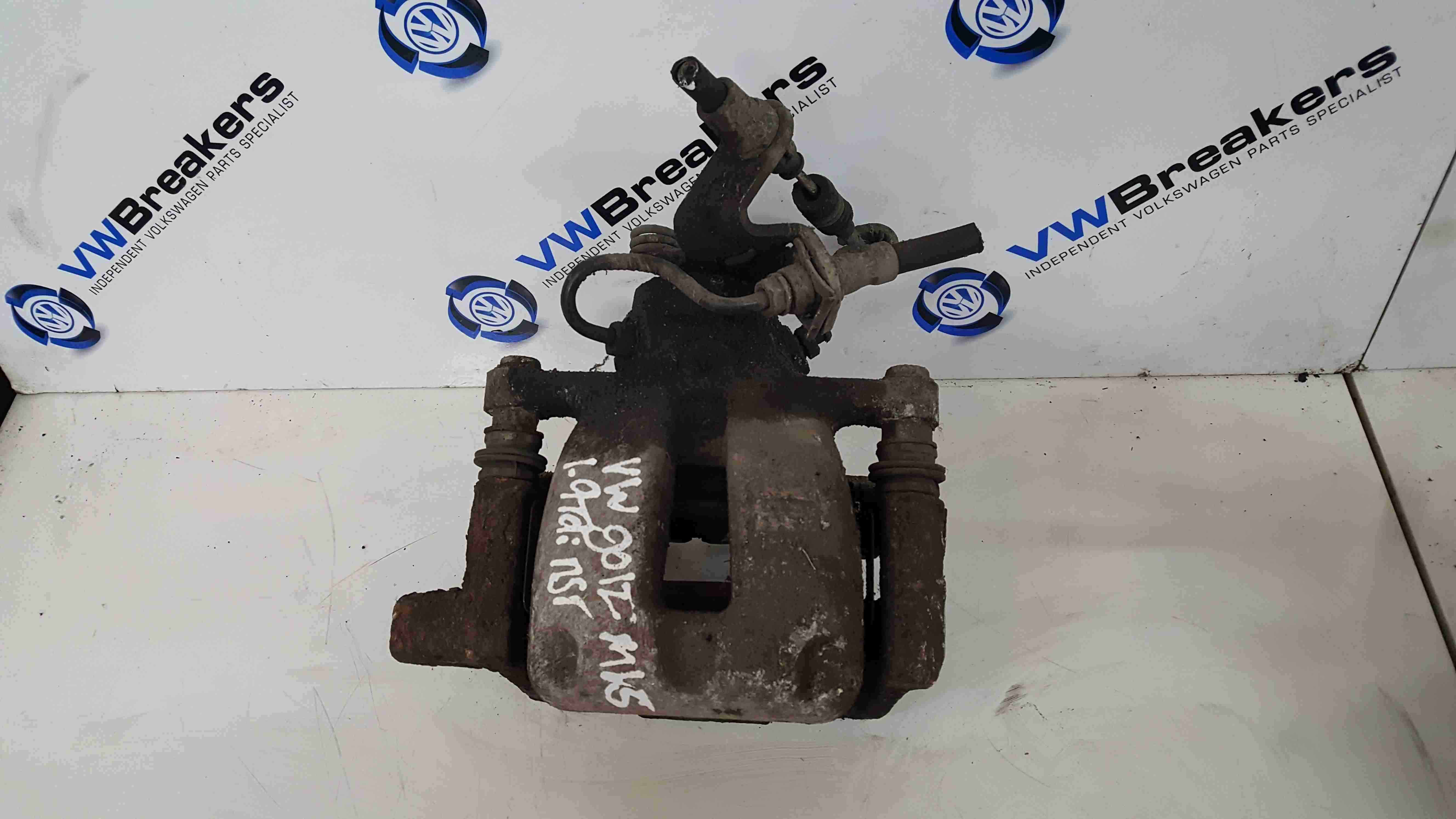 Volkswagen Golf MK5 Estate 2003-2009 1.9 TDi Passenger NSR Rear Brake Caliper
