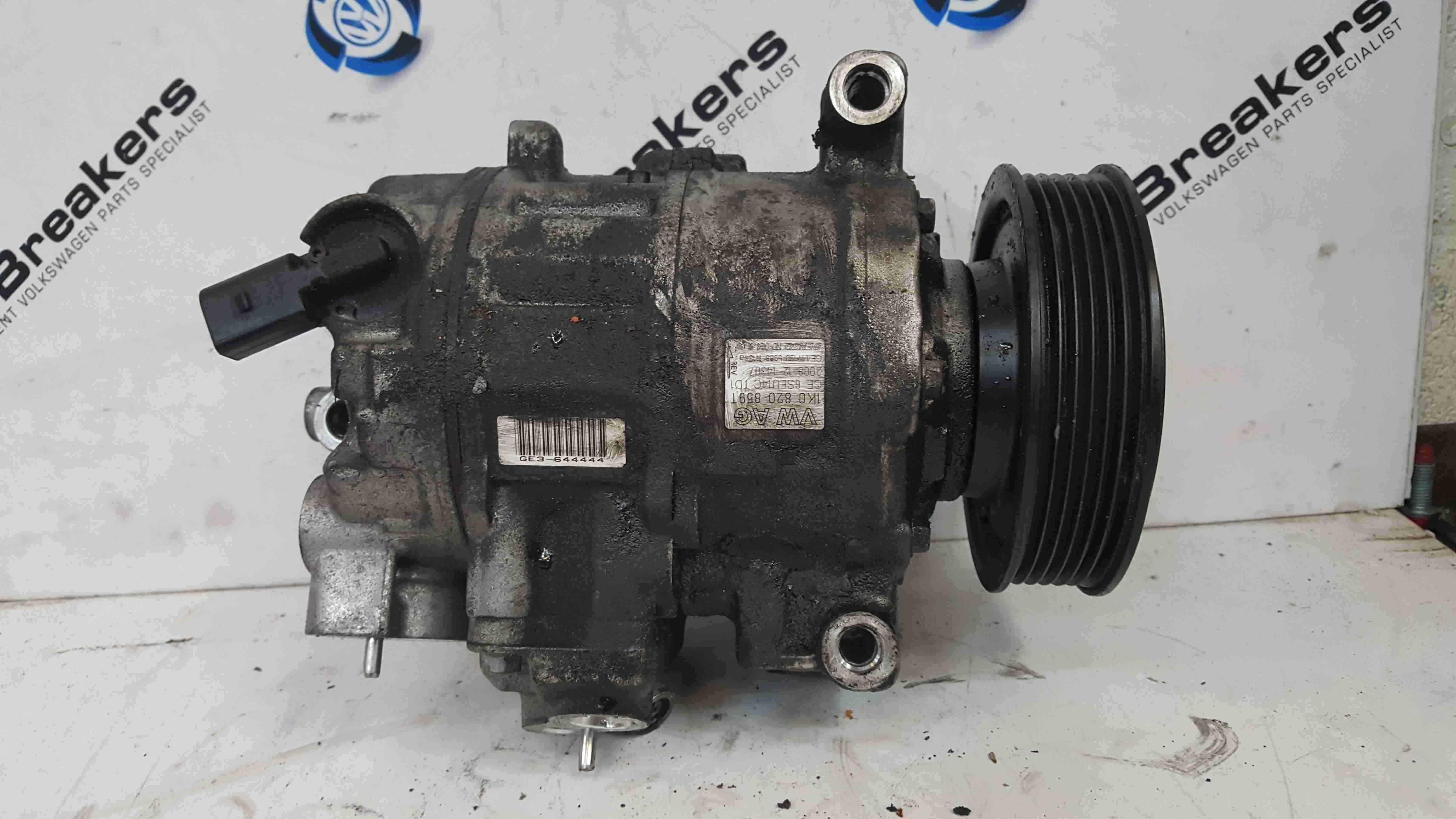 Volkswagen Golf MK6 2009-2012 Aircon Pump Compressor Unit 1K0820859T