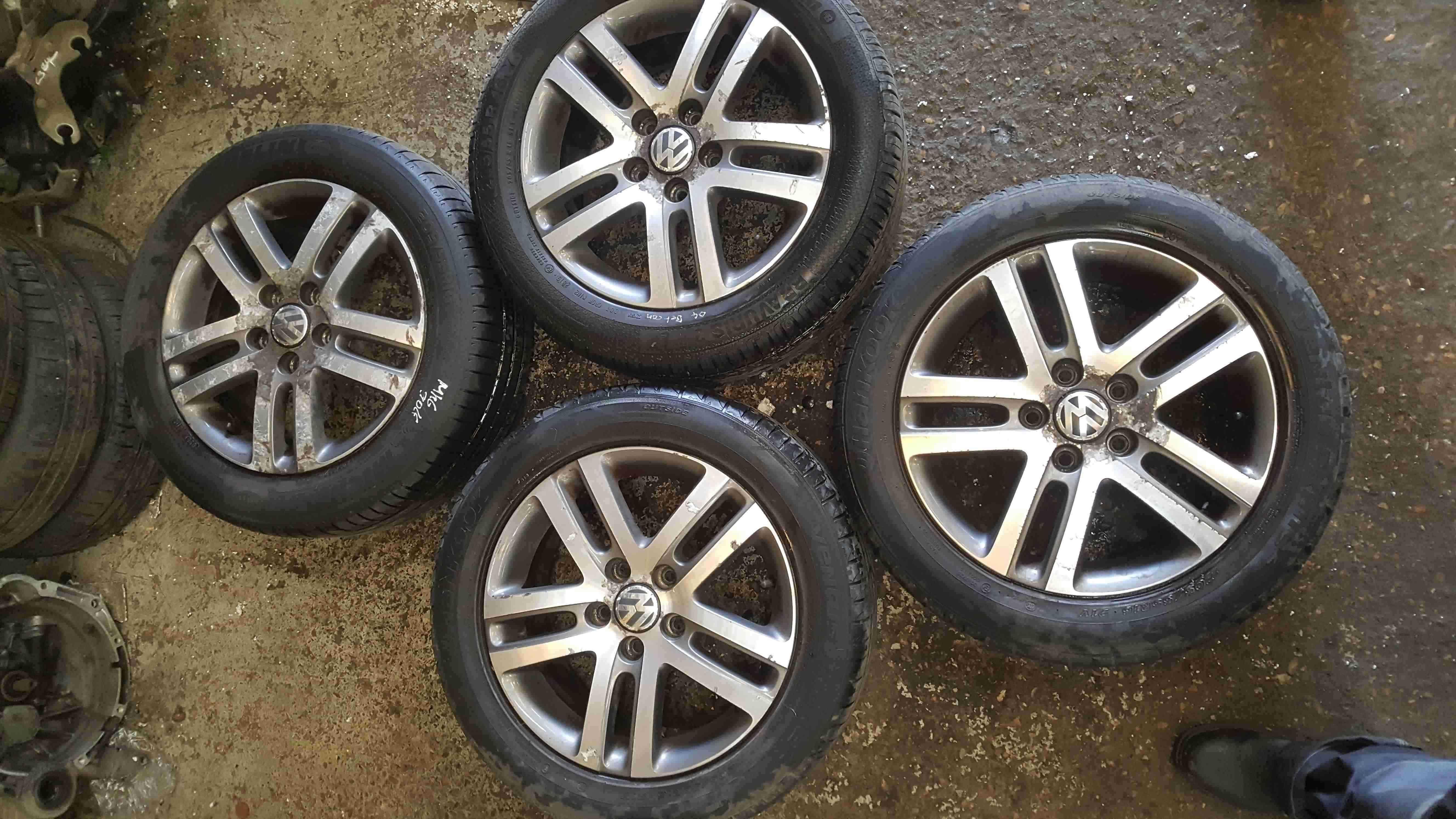 Volkswagen Golf MK6 2009-2012 Alloy Wheels Set X4 16inch