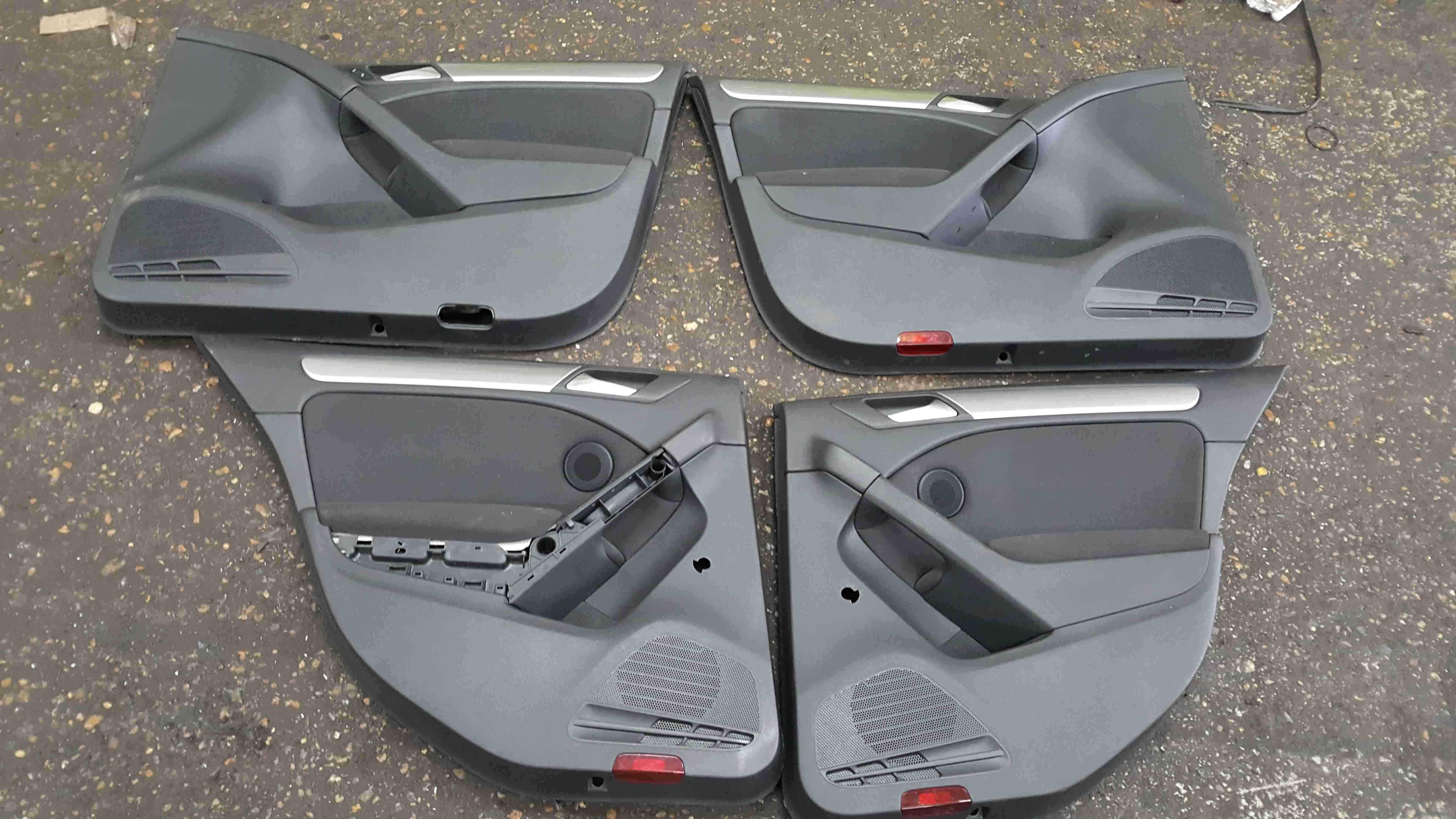 Volkswagen Golf MK6 2009-2012 Door Cards Set X4