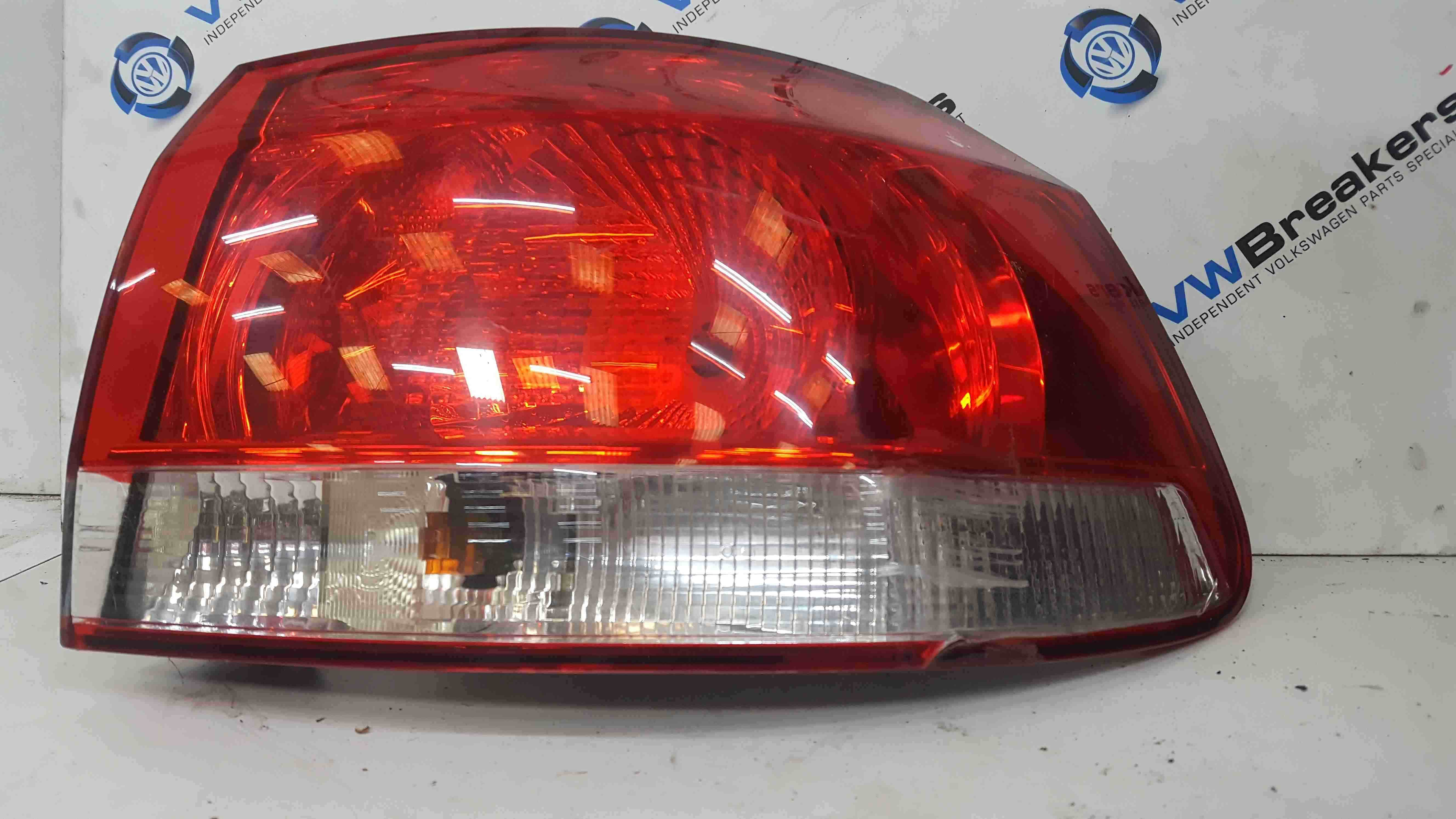 Volkswagen Golf MK6 2009-2012 Drivers OSR Rear Light
