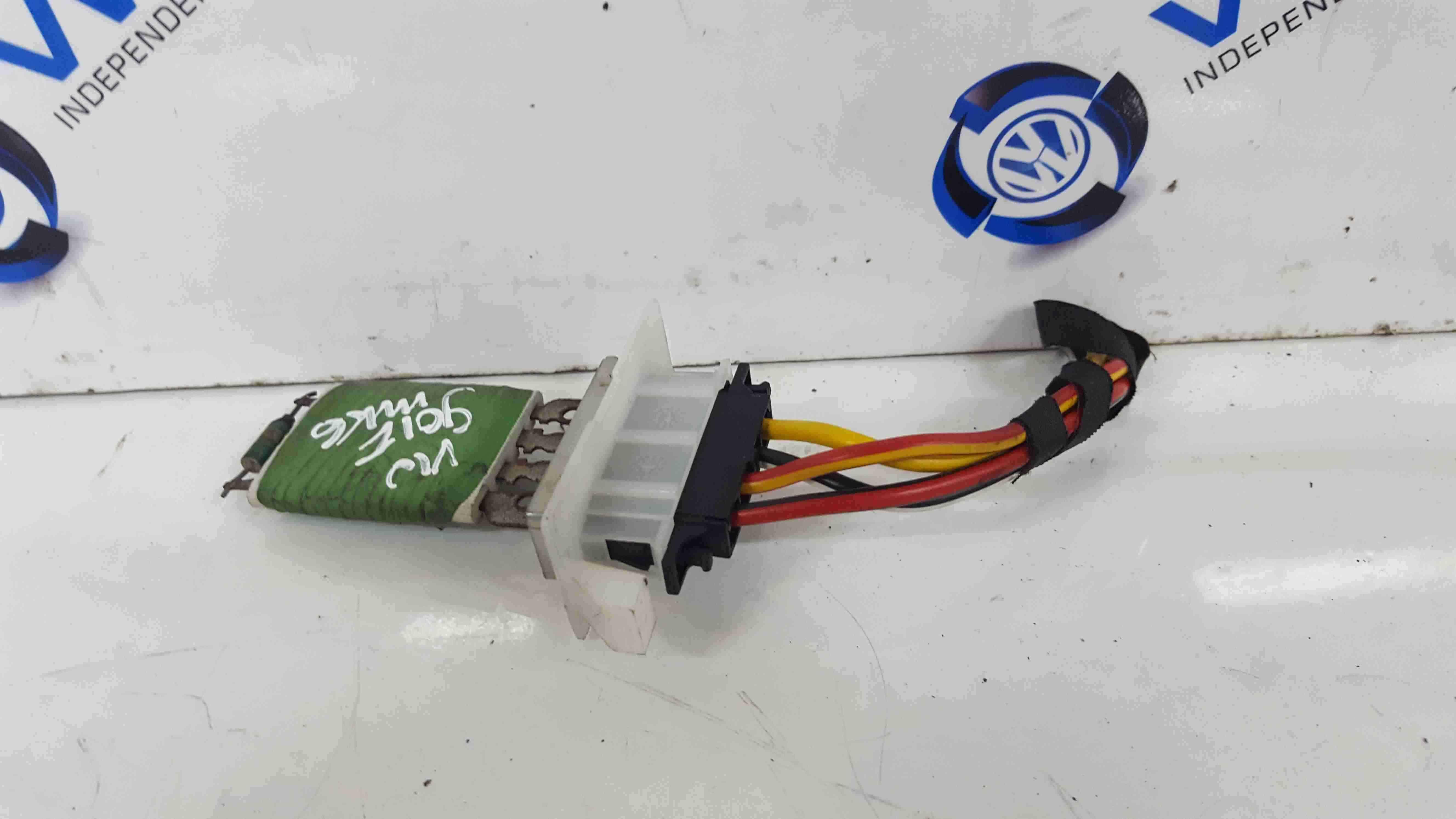 Volkswagen Golf MK6 2009-2012 Heater Blower Resistor