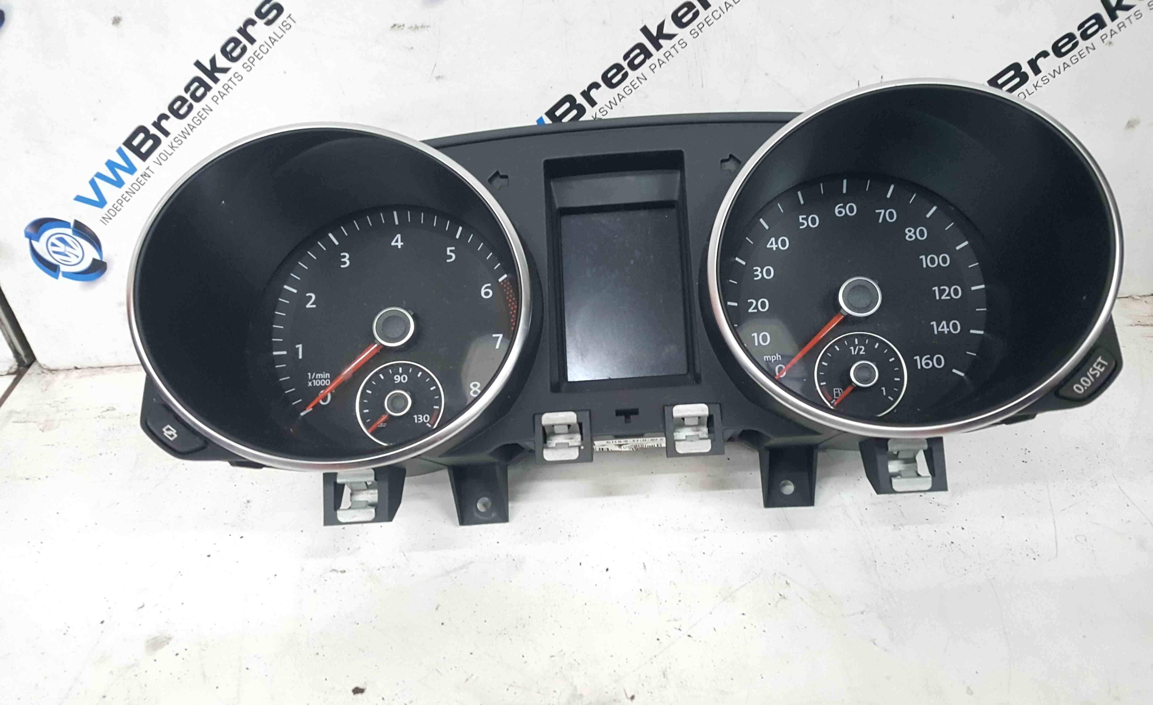 Volkswagen Golf MK6 2009-2012 Instrument Panel Dials Clocks 118K 5K0920960F