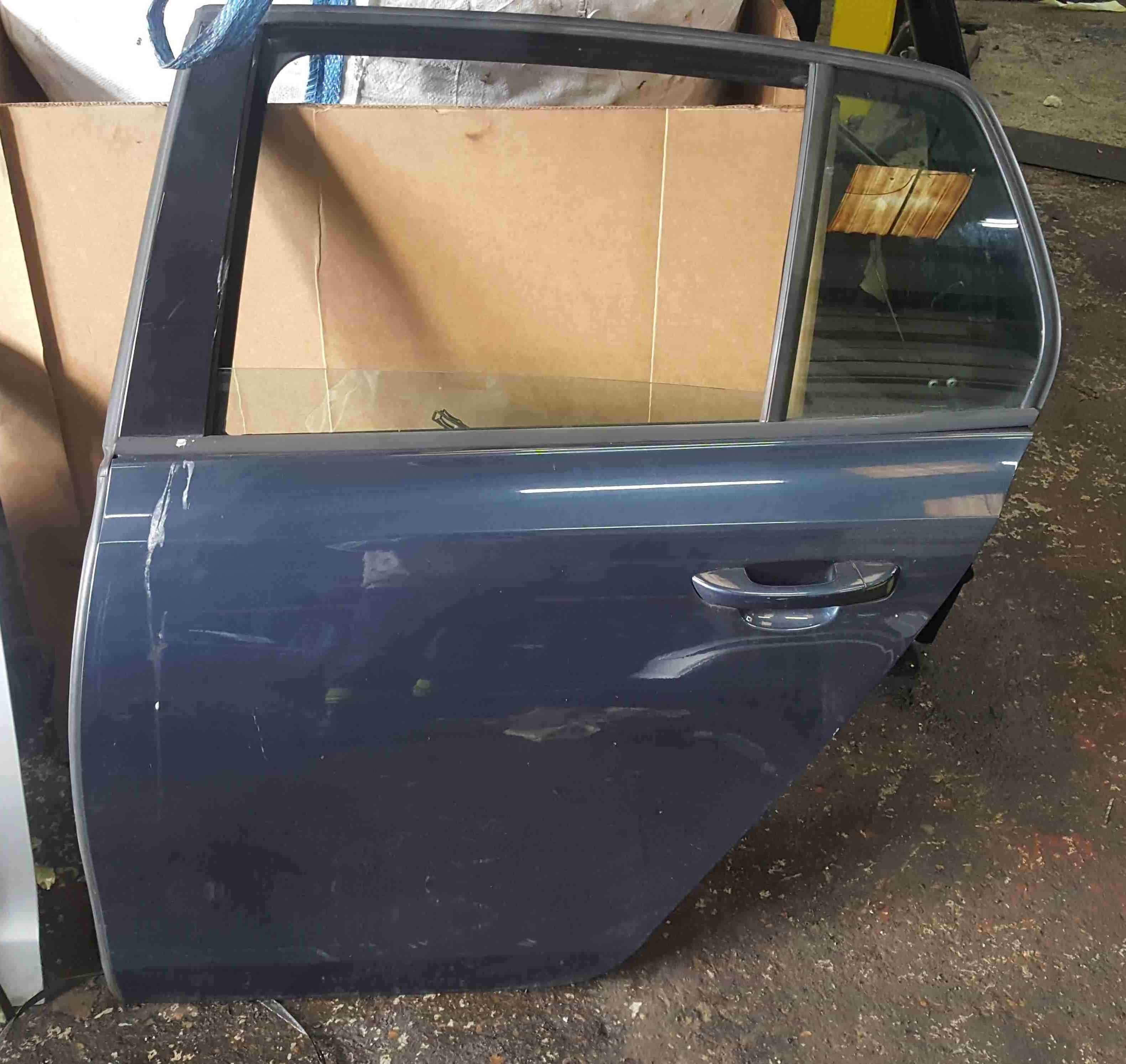 Volkswagen Golf MK6 2009-2012 Passenger NSR Rear Door Blue Grey LC5F 5K4839729J