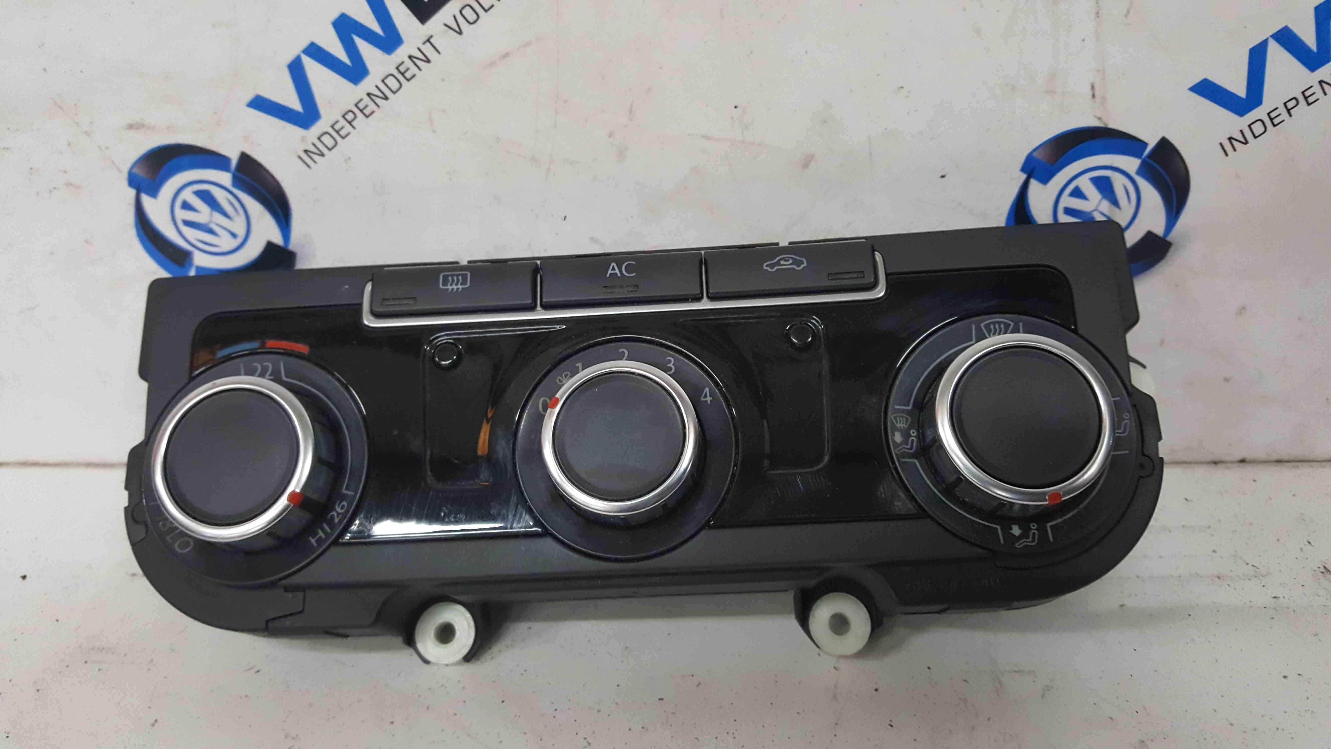 Volkswagen Golf MK6 2009-2021 Climate Heater Controls Panel 5HB009751 3C8907336
