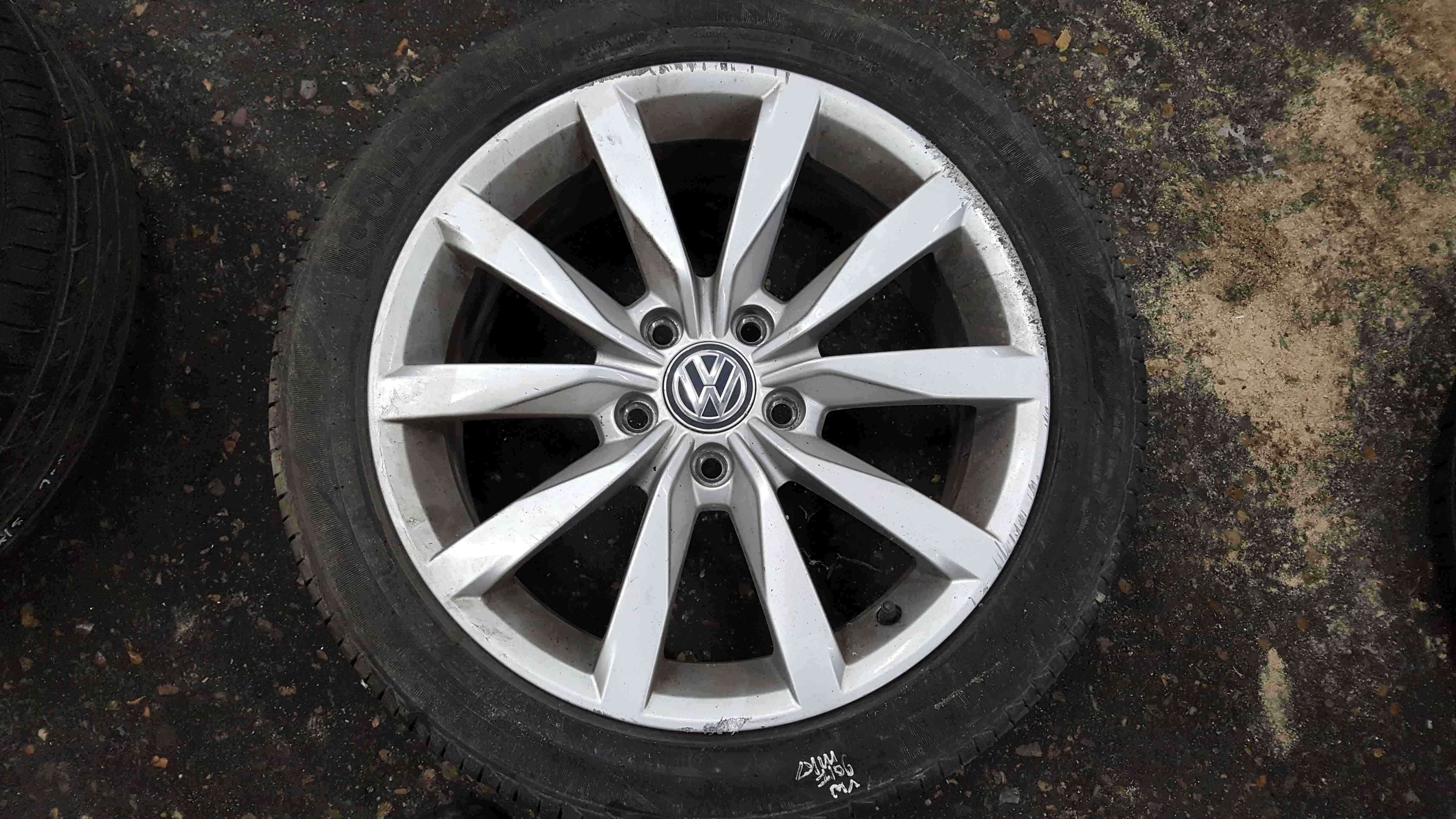 Volkswagen Golf MK7 2012-2017 Dijon Alloy Wheel 17inch 5G0601025CH