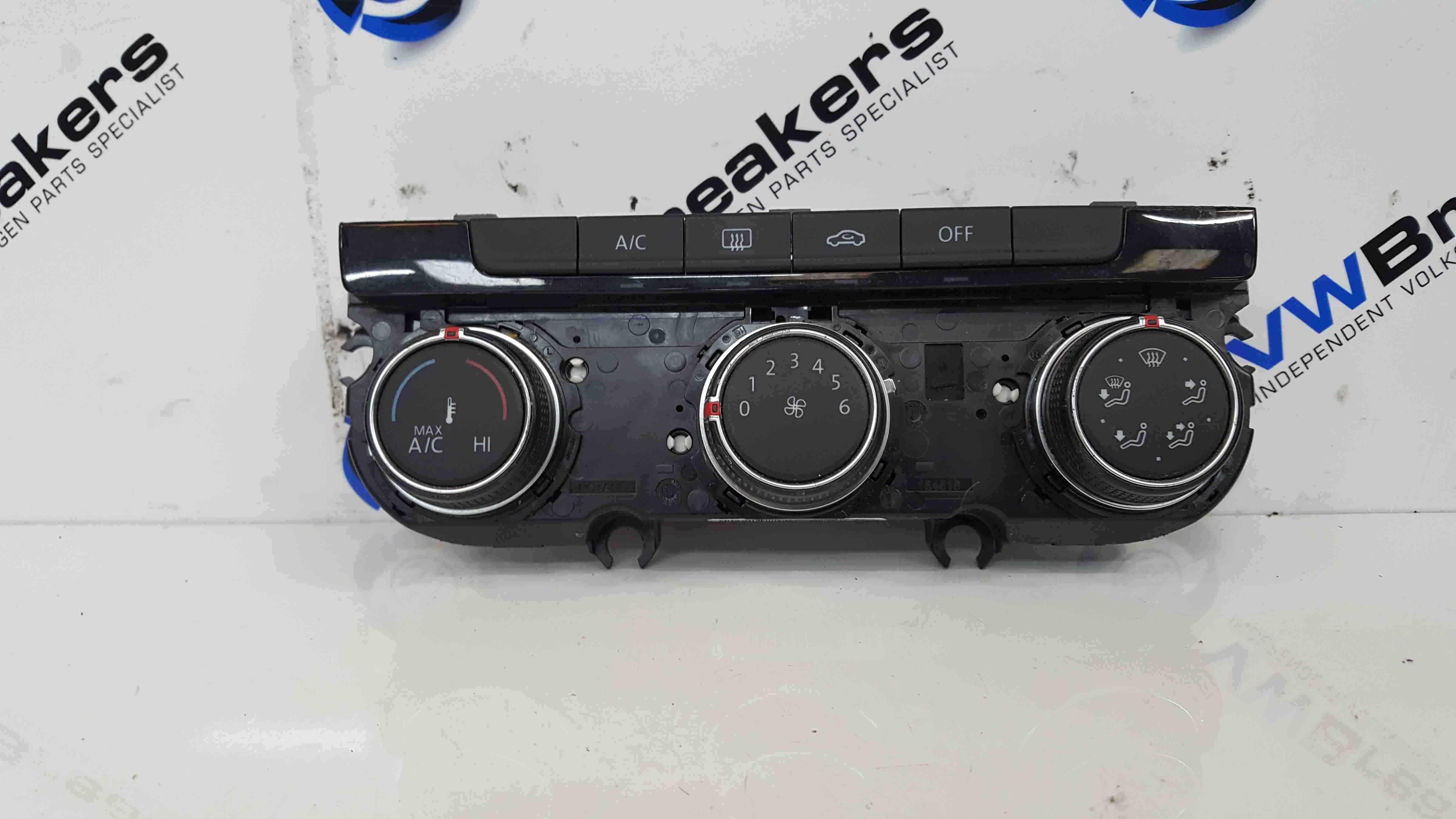 Volkswagen Golf MK7 2012-2017 Heater Controls Climate Control Dials 5G0907426T