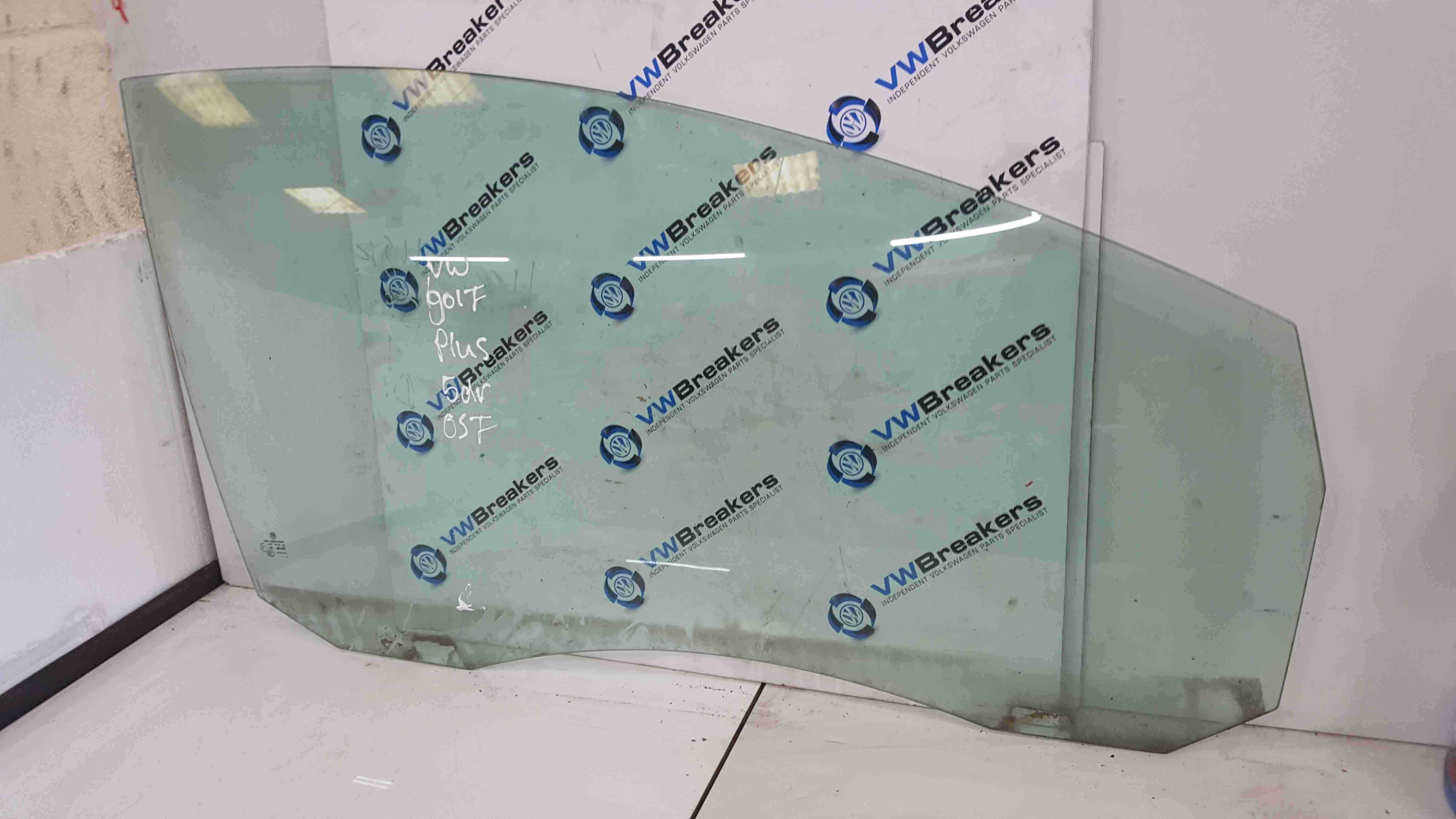 Volkswagen Golf Plus MK5 2003-2009 Drivers OSF Front Glass Window 5dr