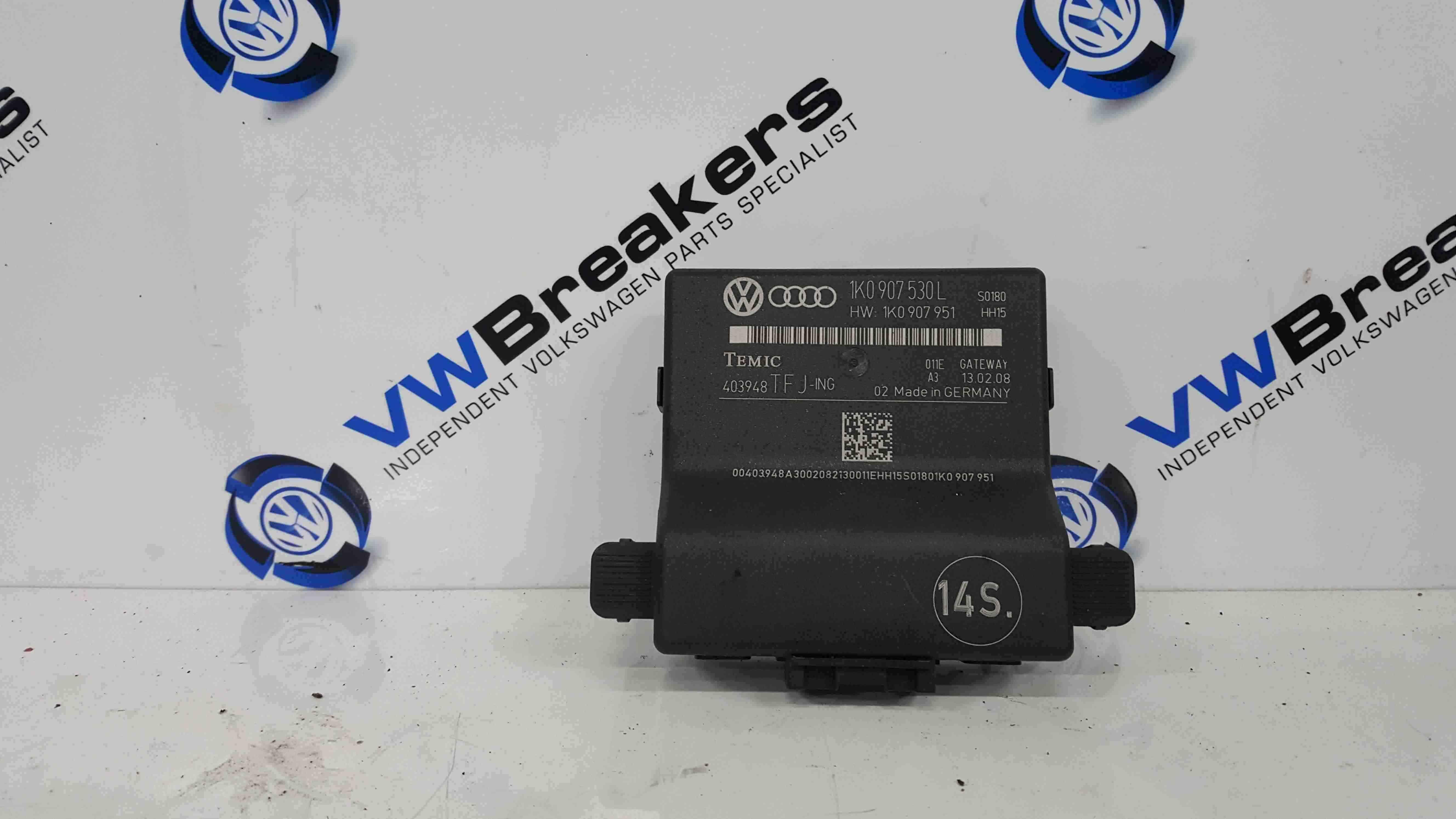 Volkswagen Golf Plus MK5 2003-2009 Gateway Control Module  1K0907530L