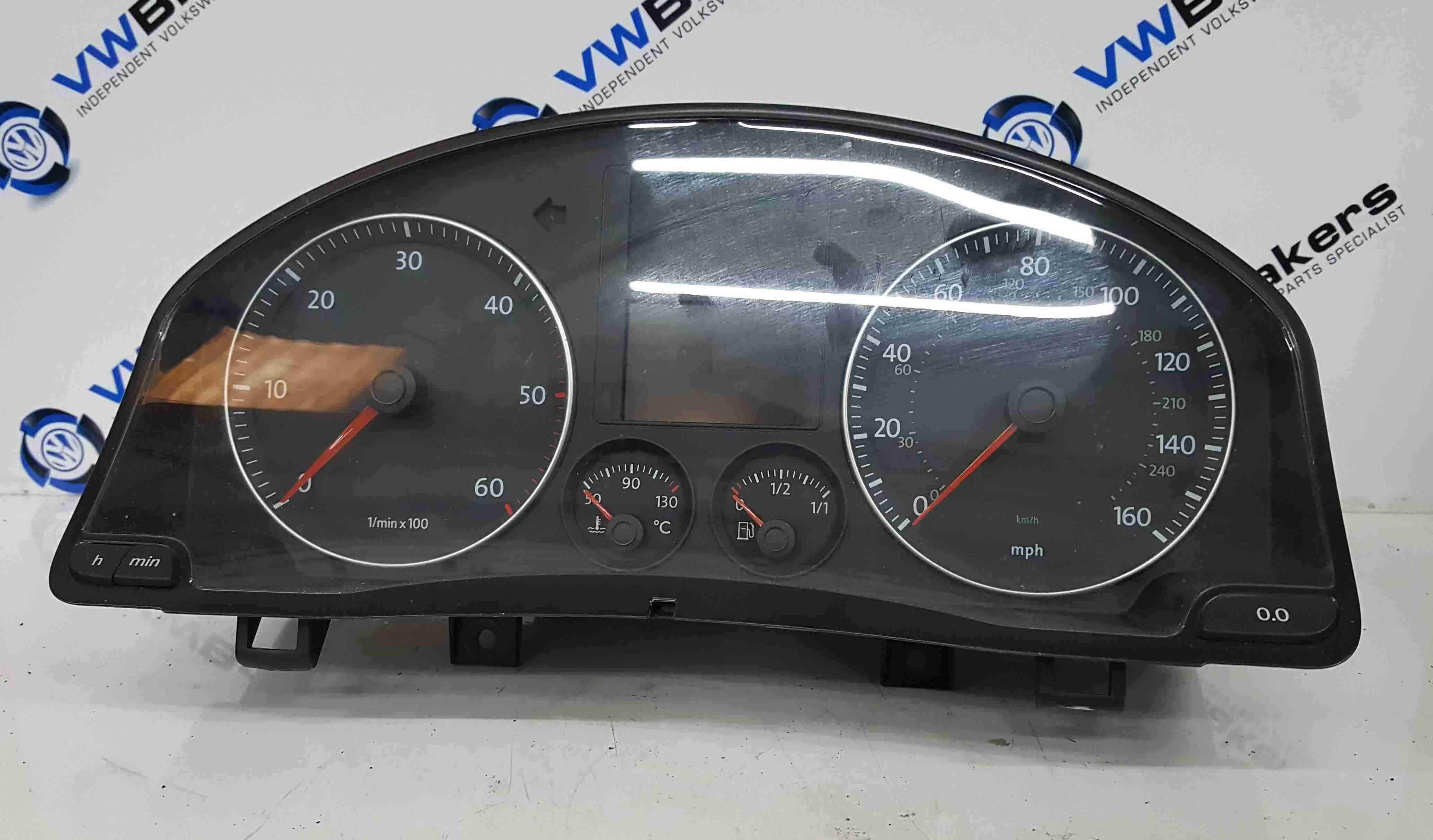 Volkswagen Golf Plus MK5 2003-2009 Instrument Panels Dials Clocks 118K